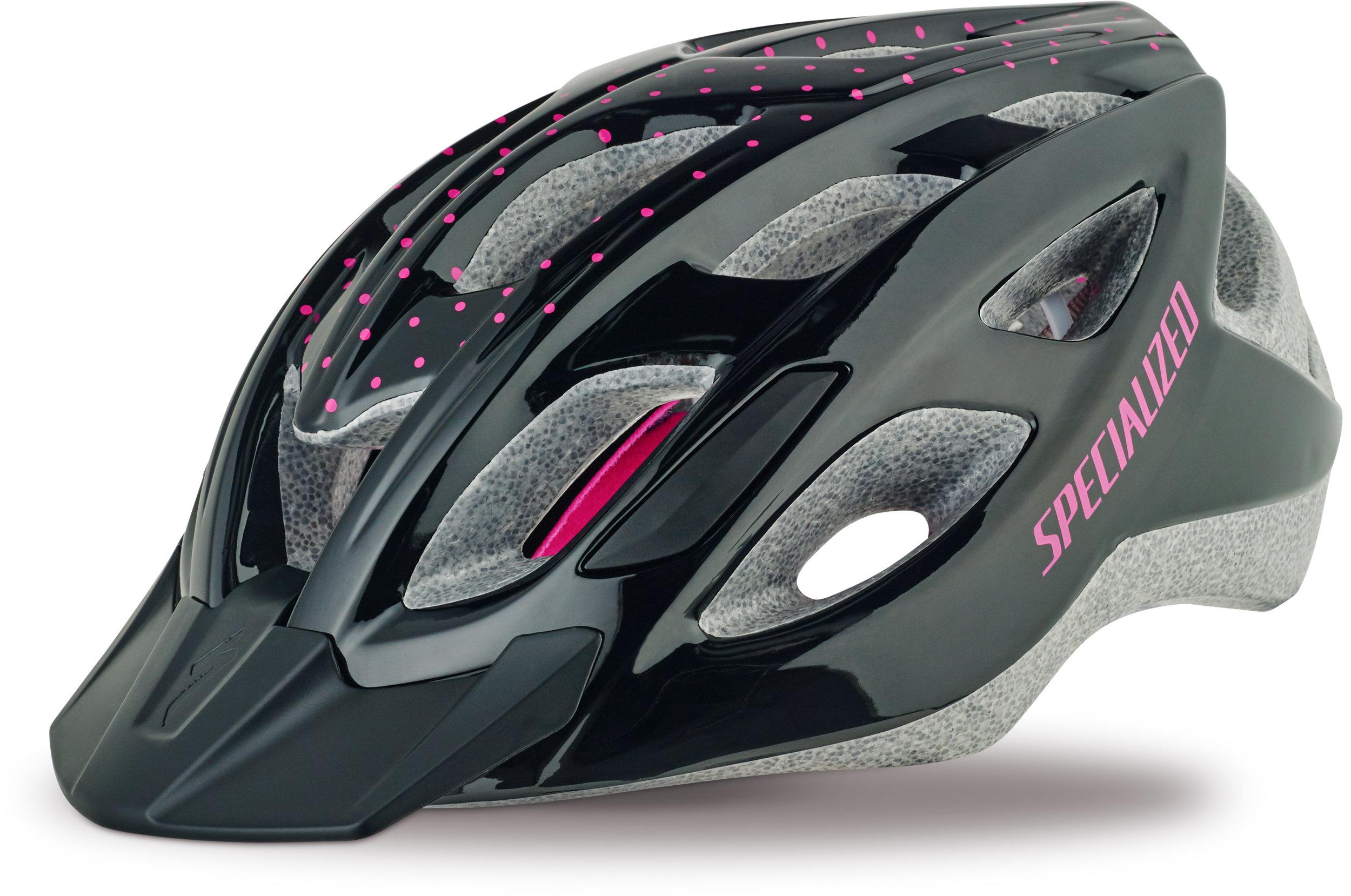 Specialized Women´s Duet Gloss Black/Pink Dots WMN - Alpha Bikes