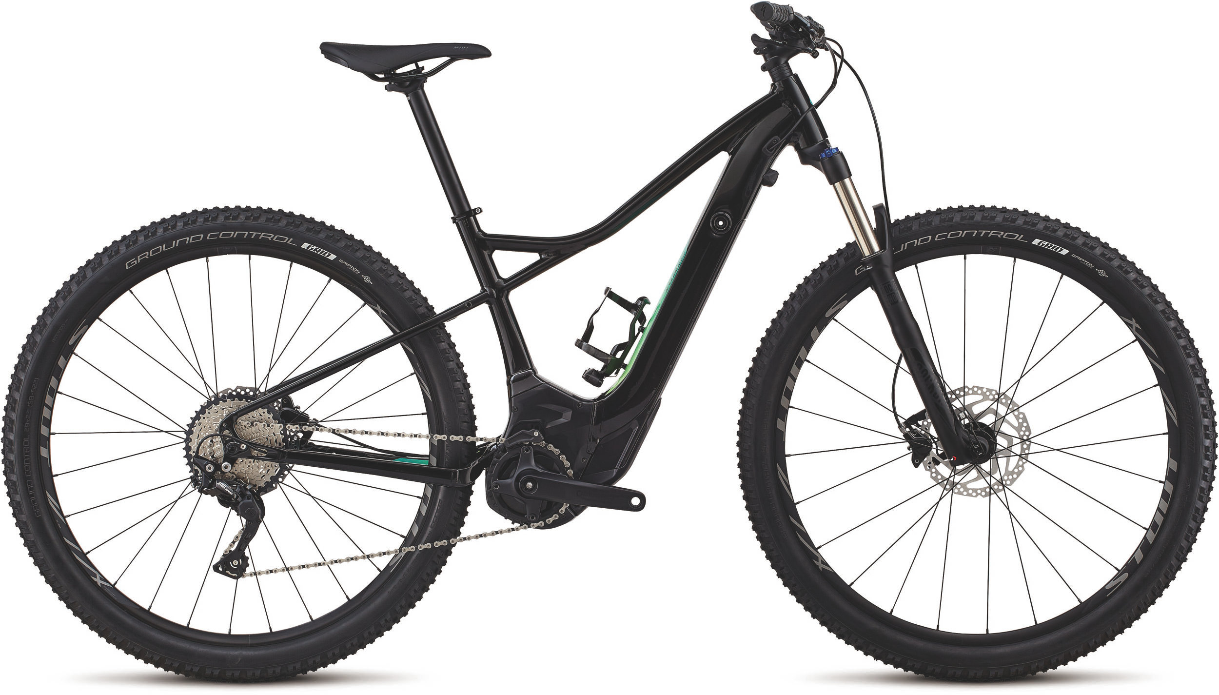 Specialized Women´s Turbo Levo Hardtail 29 Gloss Tarmac Black / Cali Fade S - Bike Maniac