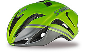 S-WORKS EVADE TRI HELMET CE HYP/CHAR ASIA S/M