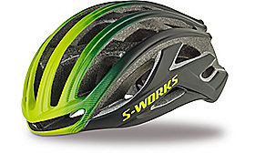 S-WORKS PREVAIL II HELMET CE BLK/HYP FADE ASIA S