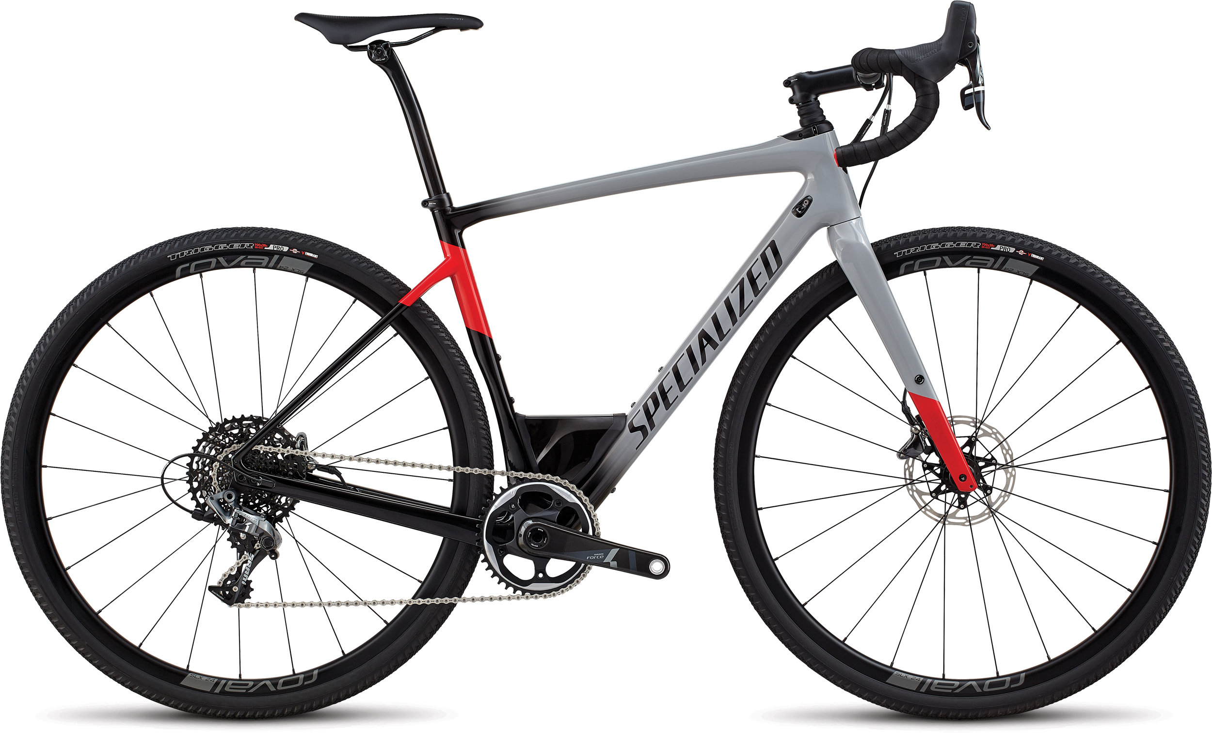 Specialized Men´s Diverge Expert GLOSS COOL GREY / BLACK / FLO RED 56 - Alpha Bikes