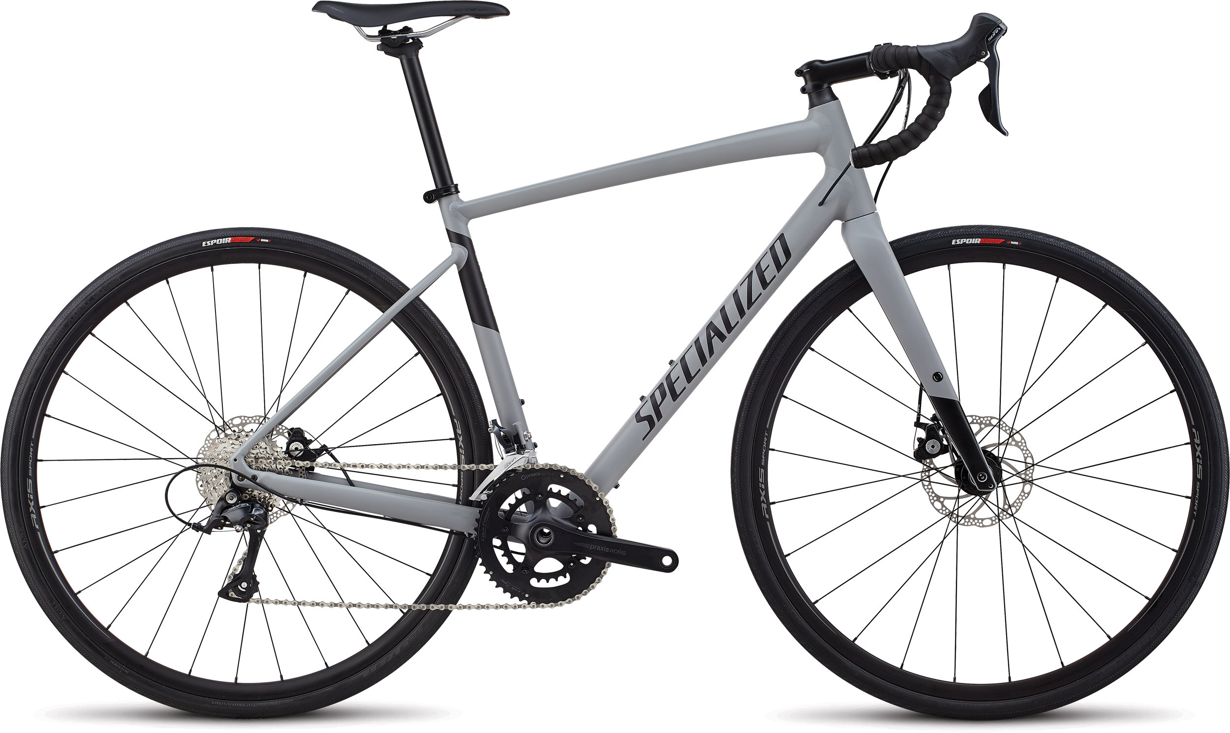 Specialized Men´s Diverge E5 Sport Satin Cool Grey/ Black 58 - Specialized Men´s Diverge E5 Sport Satin Cool Grey/ Black 58