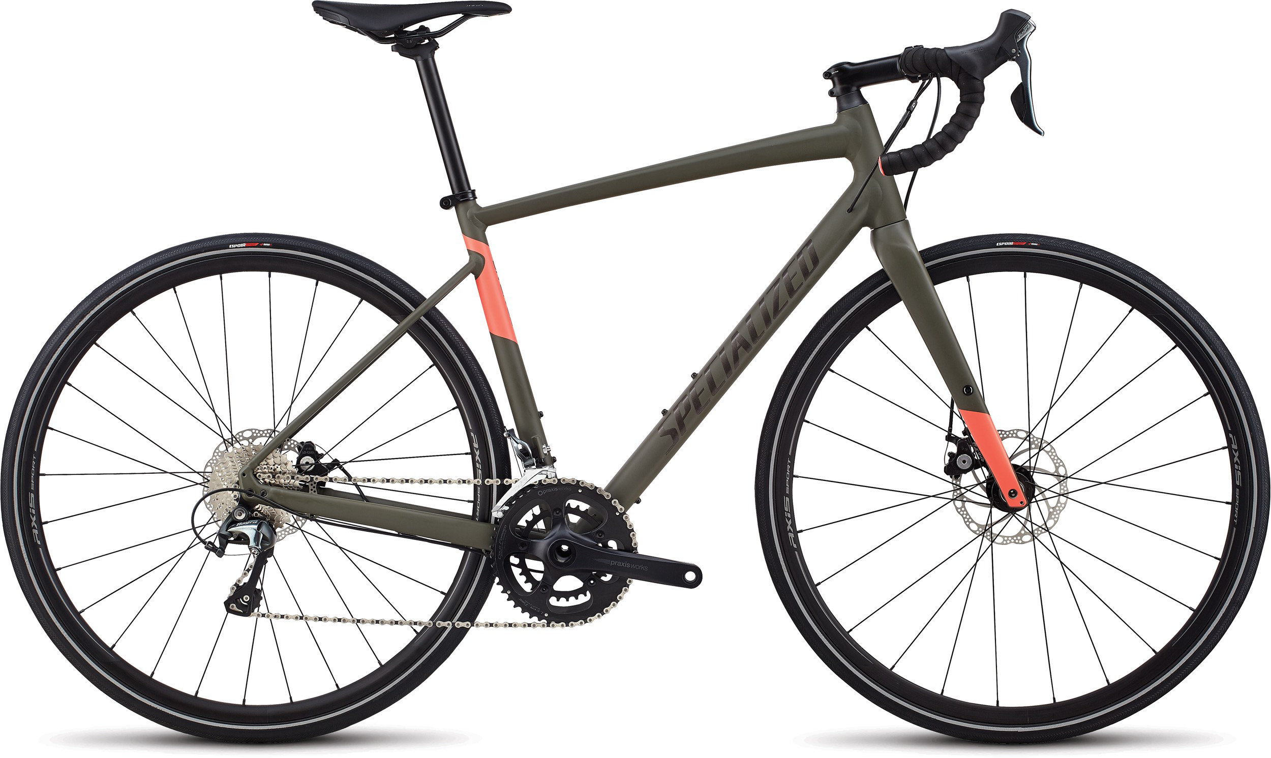 Specialized Women´s Diverge E5 Elite Oak/Acid Lava 44 - Pulsschlag Bike+Sport