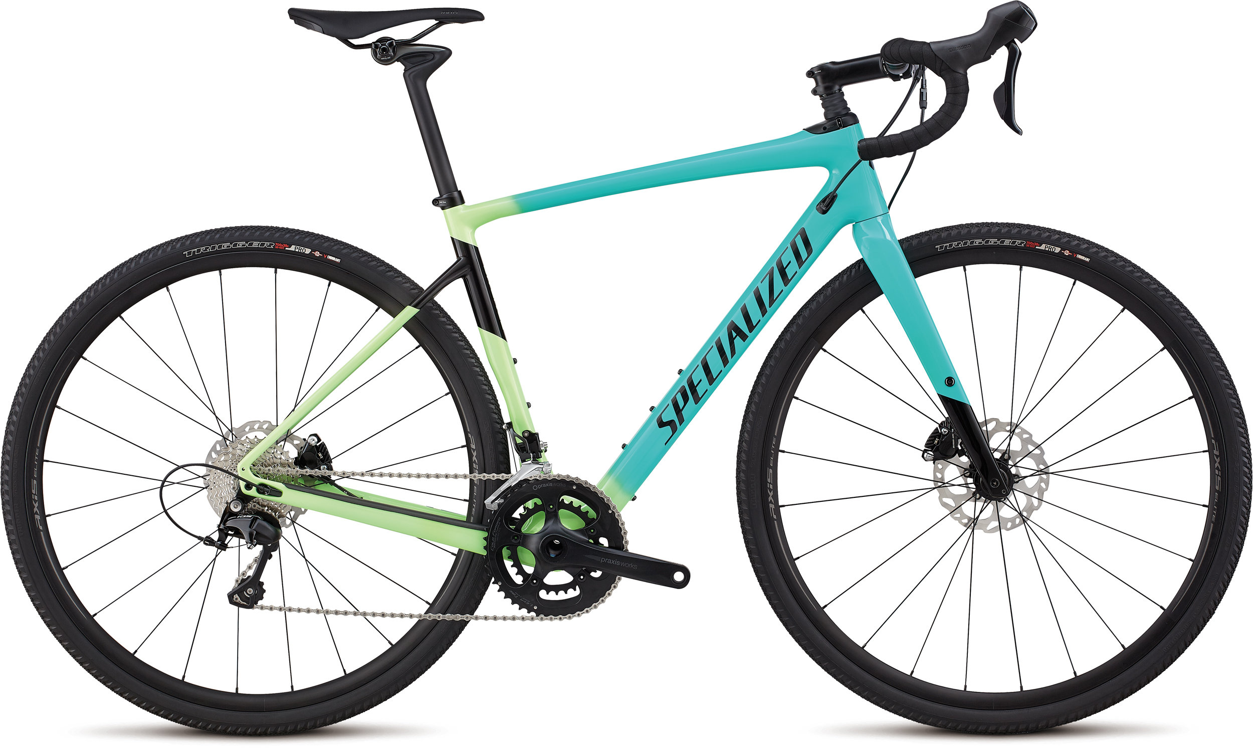 Specialized Women´s Diverge Comp Cali Fade/Tarmac Black 52 - Alpha Bikes