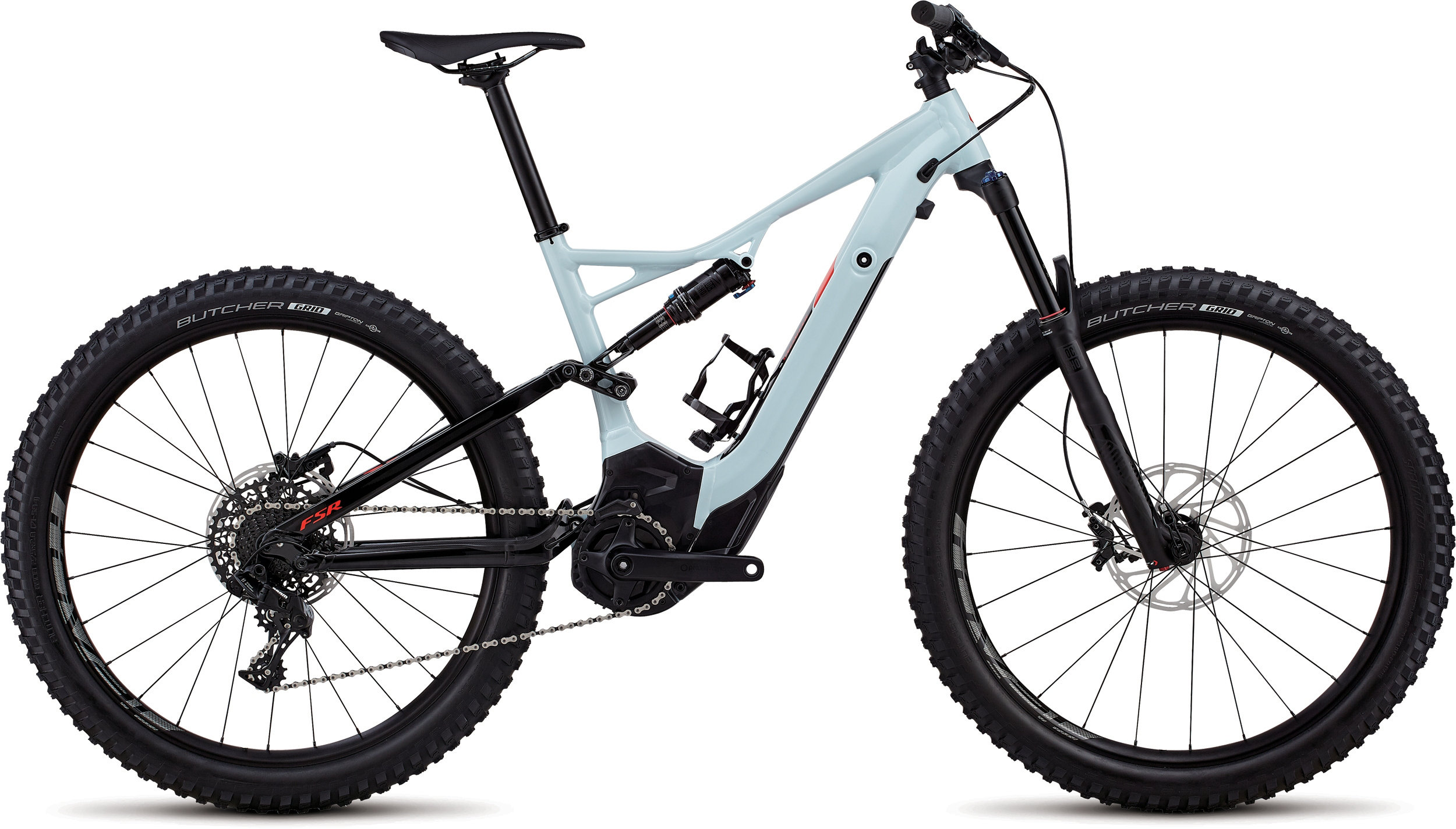 Specialized Men´s Turbo Levo FSR 6Fattie/29 Ice Blue / Rocket Red L - Pulsschlag Bike+Sport