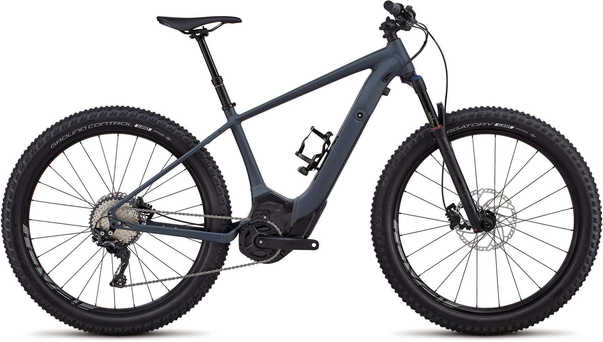 Specialized Men´s Turbo Levo Hardtail Comp 6Fattie Gloss Carbon Gray / Black S - Bike Maniac