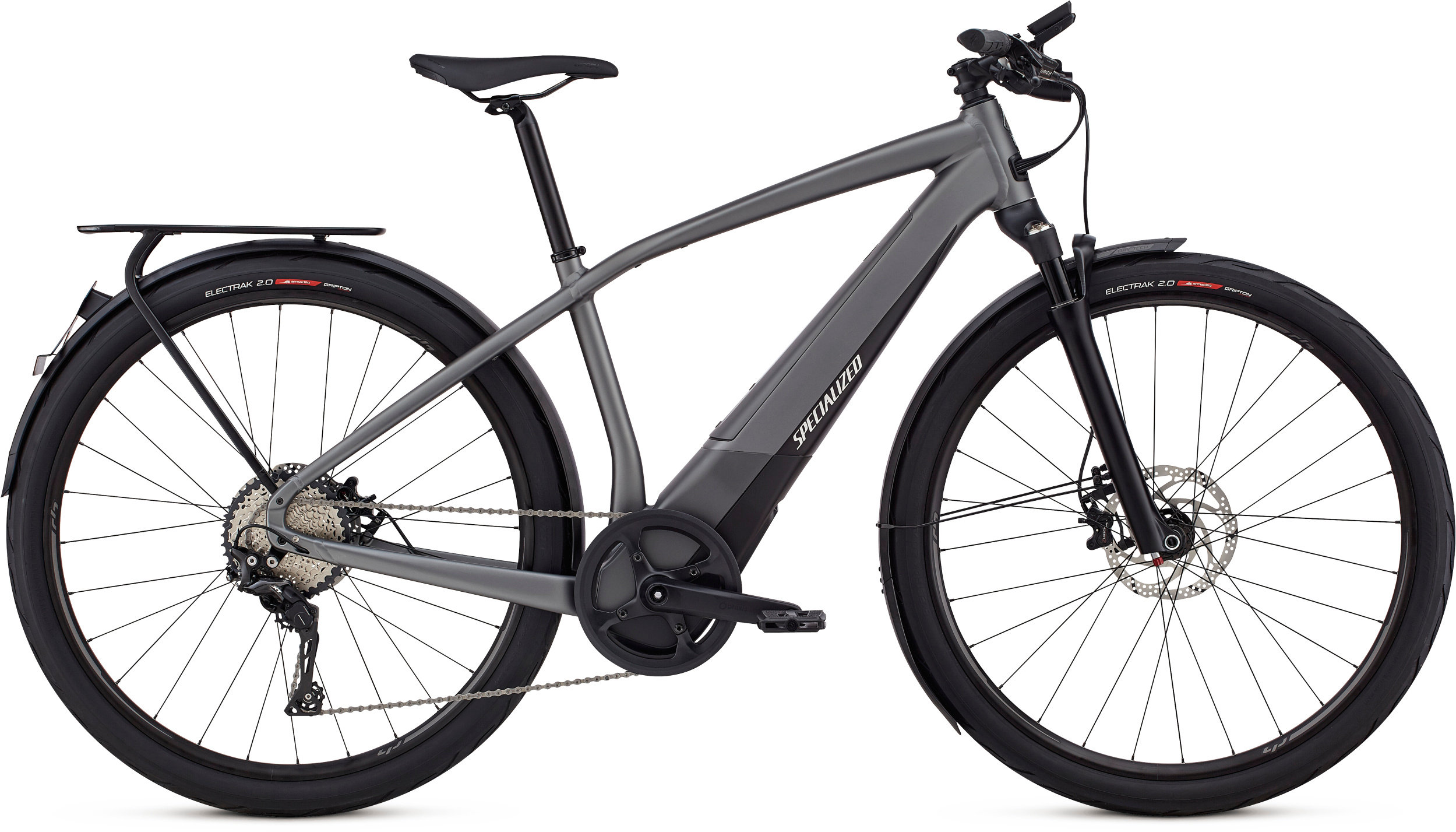 Specialized Men´s Turbo Vado 6.0 Gloss Charcoal / Black / Chrome LG - schneider-sports
