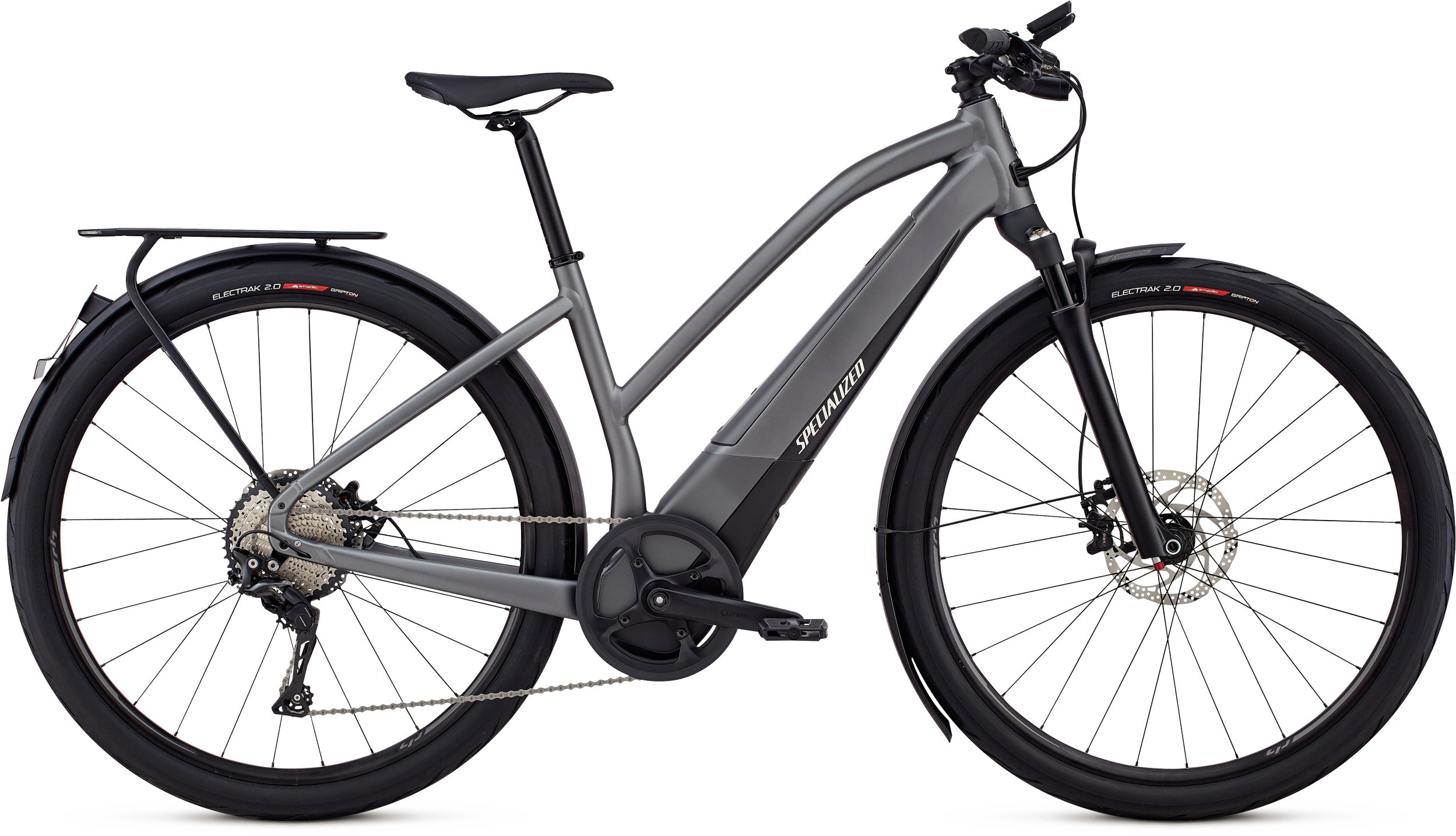 Specialized Women´s Turbo Vado 6.0 Gloss Charcoal / Black / Chrome XL - Pulsschlag Bike+Sport