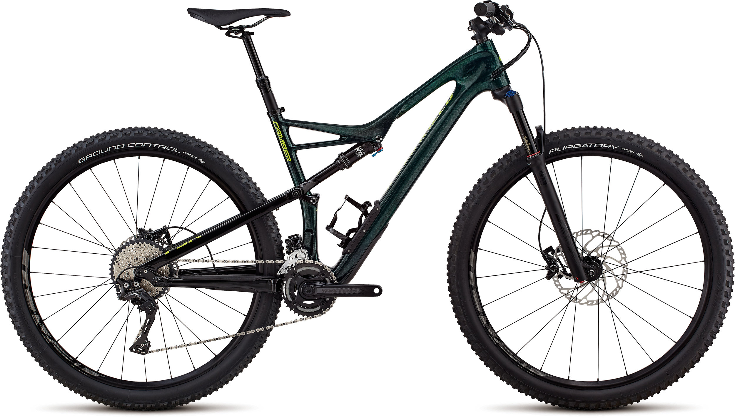 Specialized Men´s Camber Comp Carbon 29 - 2x GLOSS CAVENDISH GREEN / HYPER GREEN CLEAN L - Pulsschlag Bike+Sport