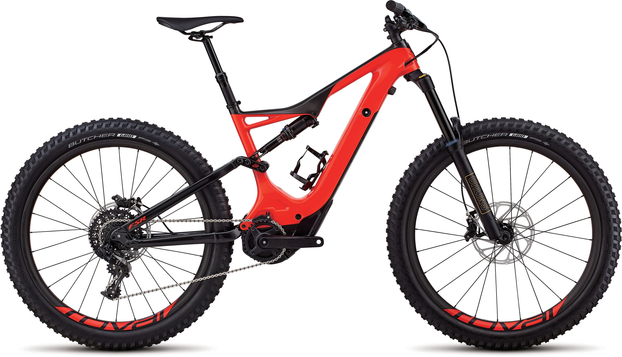 Specialized Men´s Turbo Levo FSR Expert Carbon 6Fattie/29 Gloss Rocket Red / Carbon L - schneider-sports