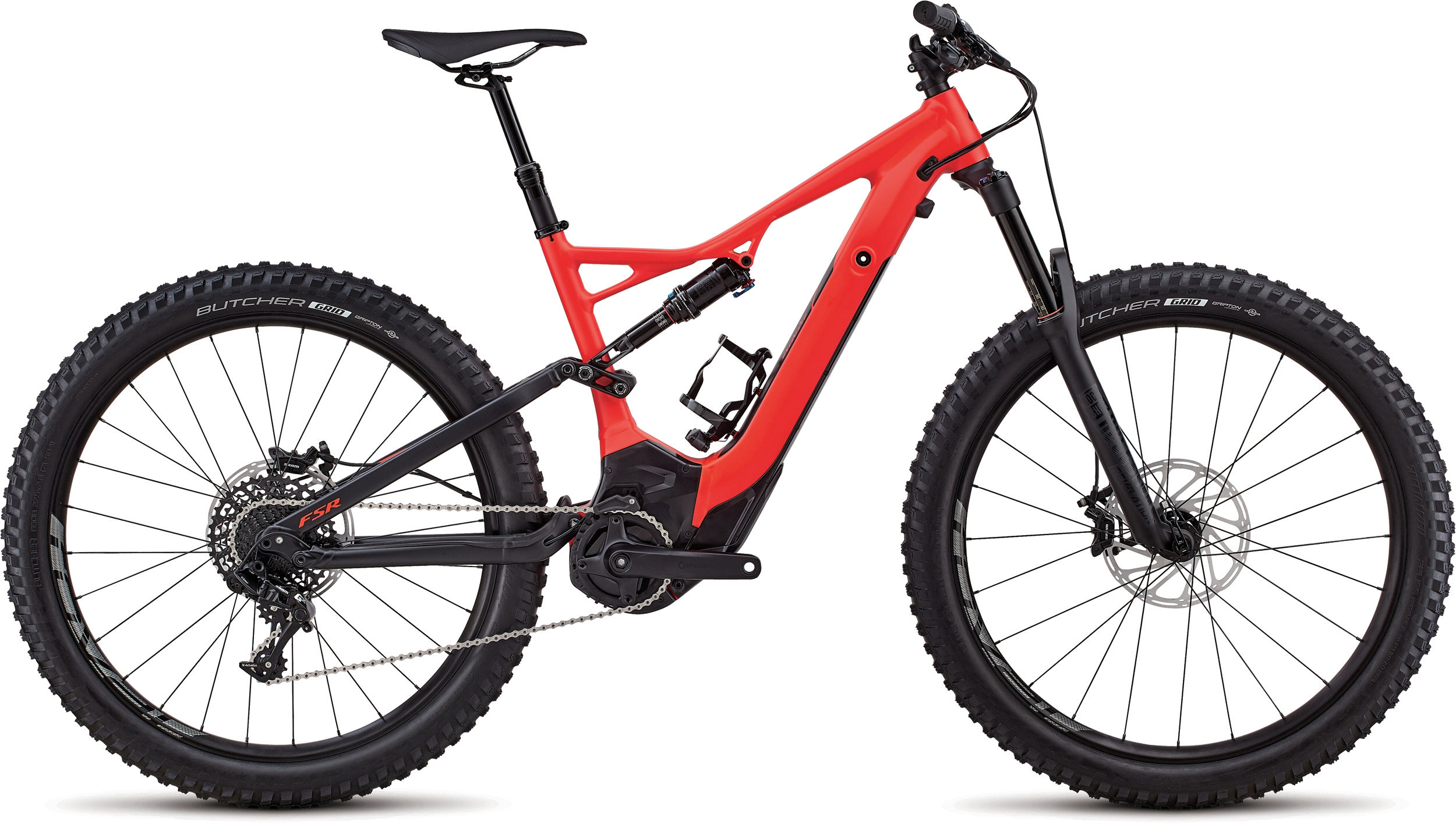 Specialized Men´s Turbo Levo FSR Comp 6Fattie/29 Rocket Red / Black L - Pulsschlag Bike+Sport