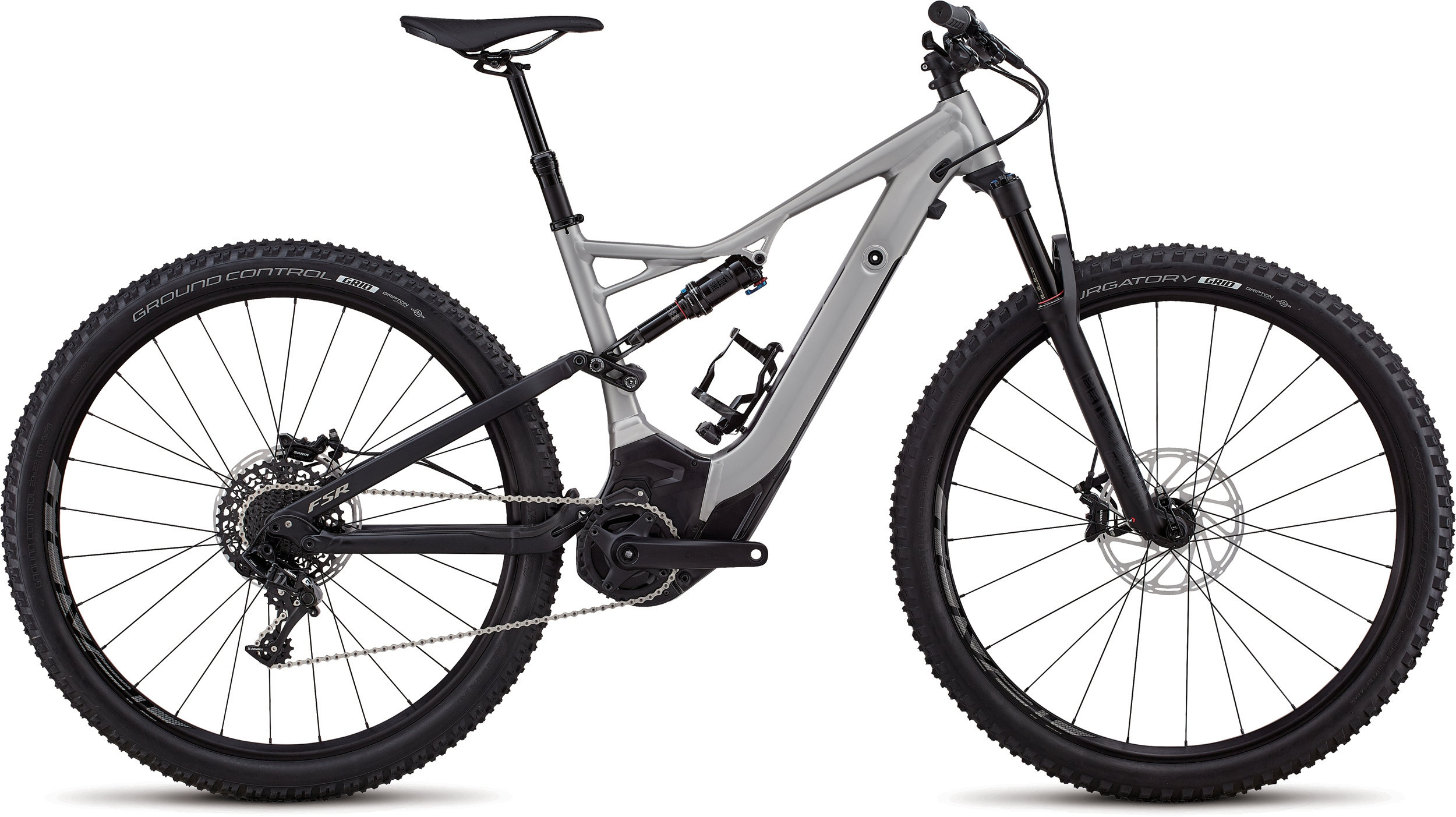 Specialized Men´s Turbo Levo FSR Short Travel Comp 29 Platinum / Black M - Pulsschlag Bike+Sport