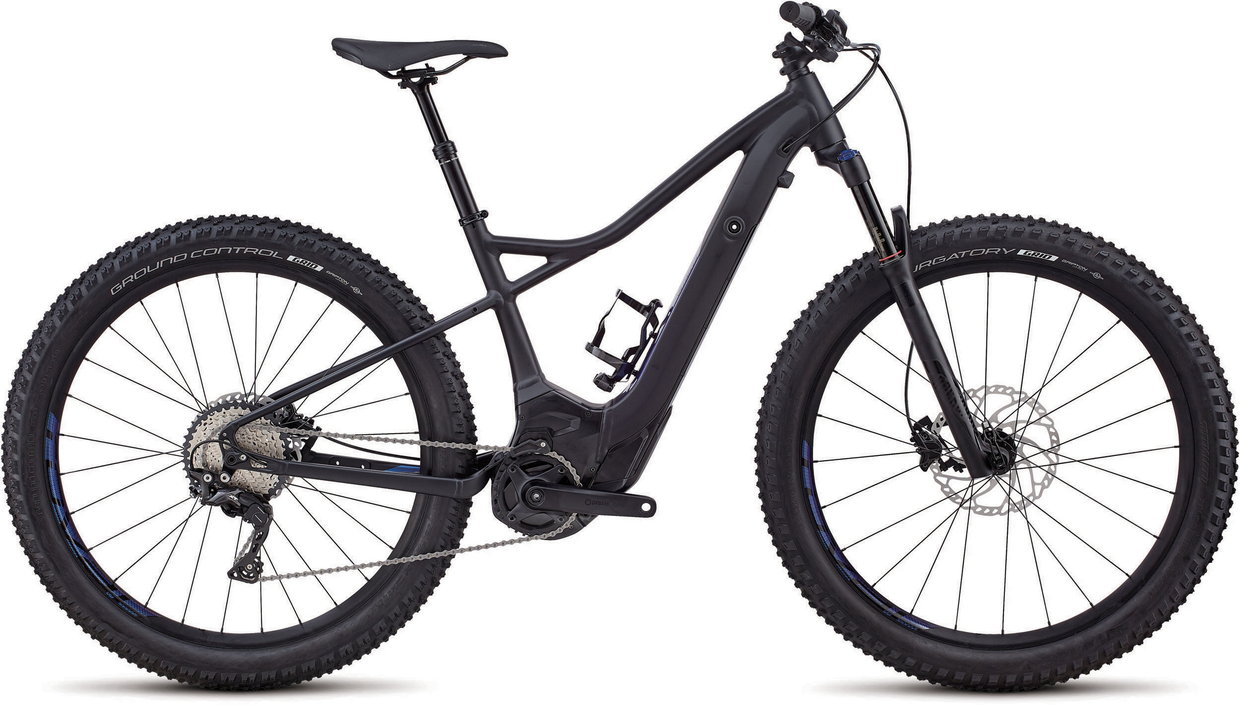Specialized Women´s Turbo Levo Hardtail Comp 6Fattie Satin Gloss Blk/Chamaleon Decals S - Bike Maniac