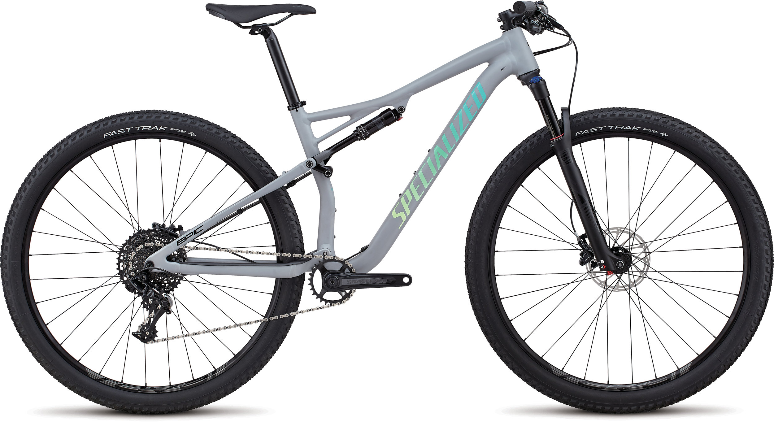 Specialized Women´s Epic Comp Alloy Satin Gloss Cool Gray / Cali Fade M - Alpha Bikes