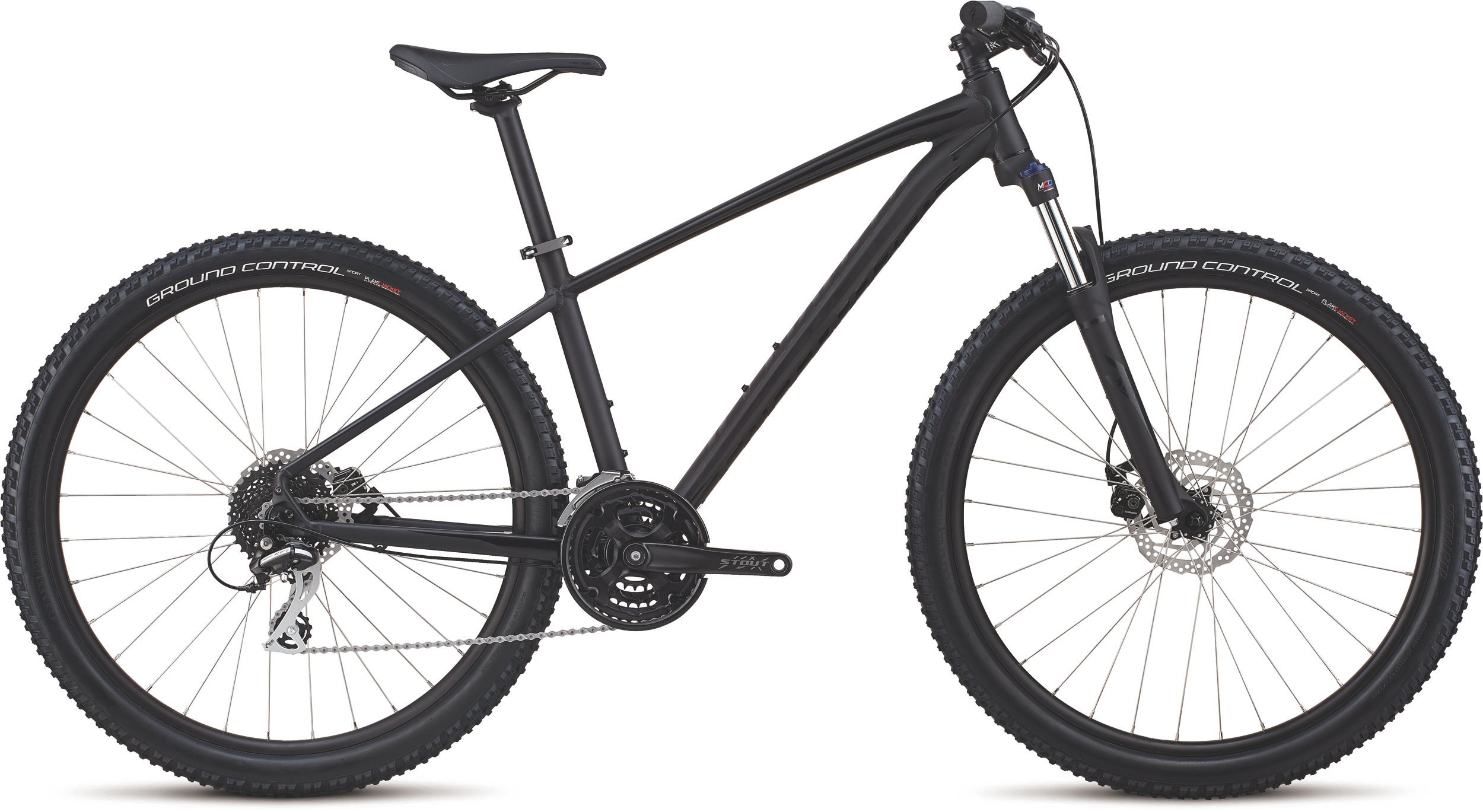 Specialized Men´s Pitch Sport 27.5 SATIN GLOSS BLACK / BLACK L - Pulsschlag Bike+Sport