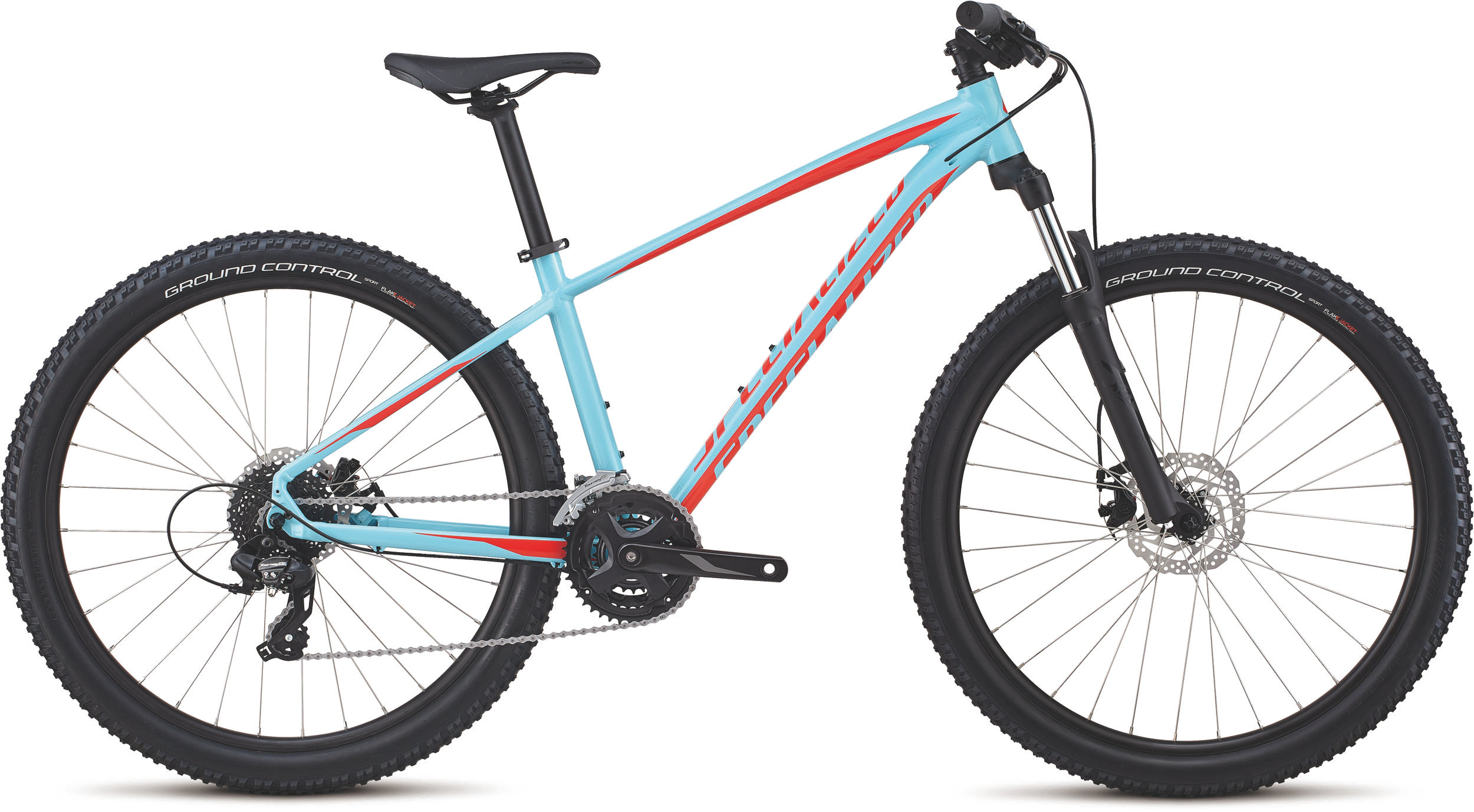 Specialized Men´s Pitch 27.5 GLOSS LT BLUE / ROCKET RED S - Specialized Men´s Pitch 27.5 GLOSS LT BLUE / ROCKET RED S