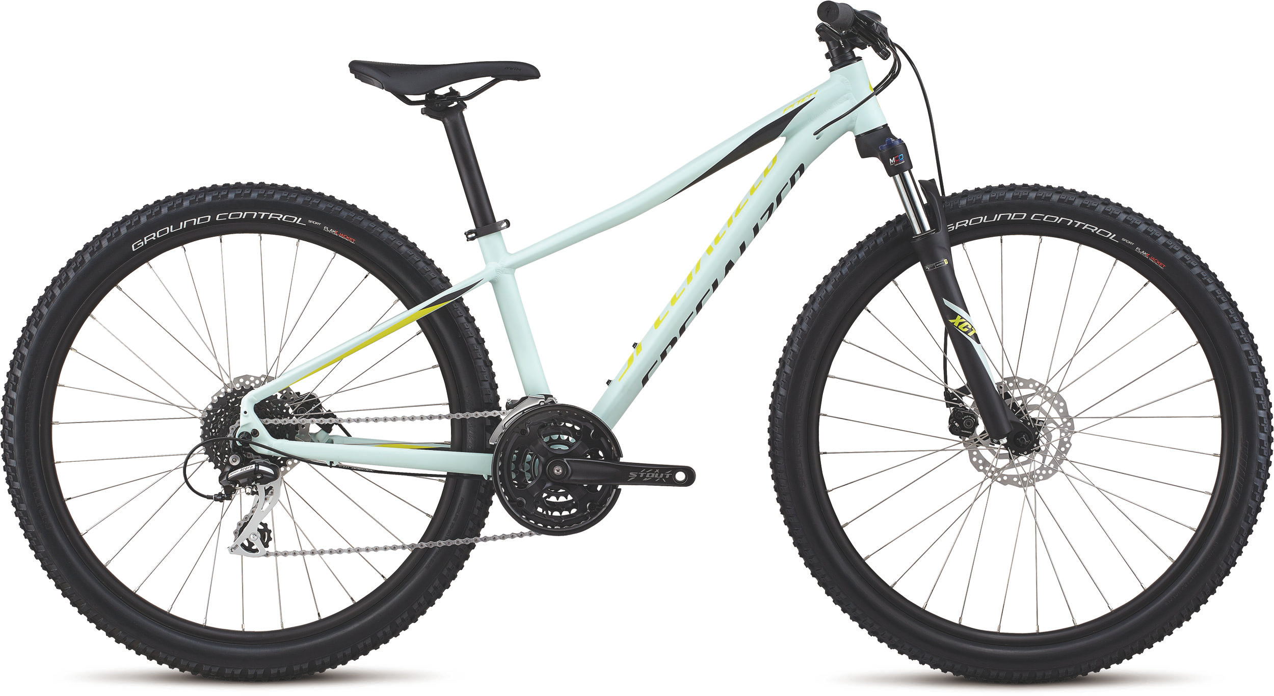Specialized Women´s Pitch Sport 27.5 Satin / White Sage / Limon / Black / Reflect XS - Bike Maniac