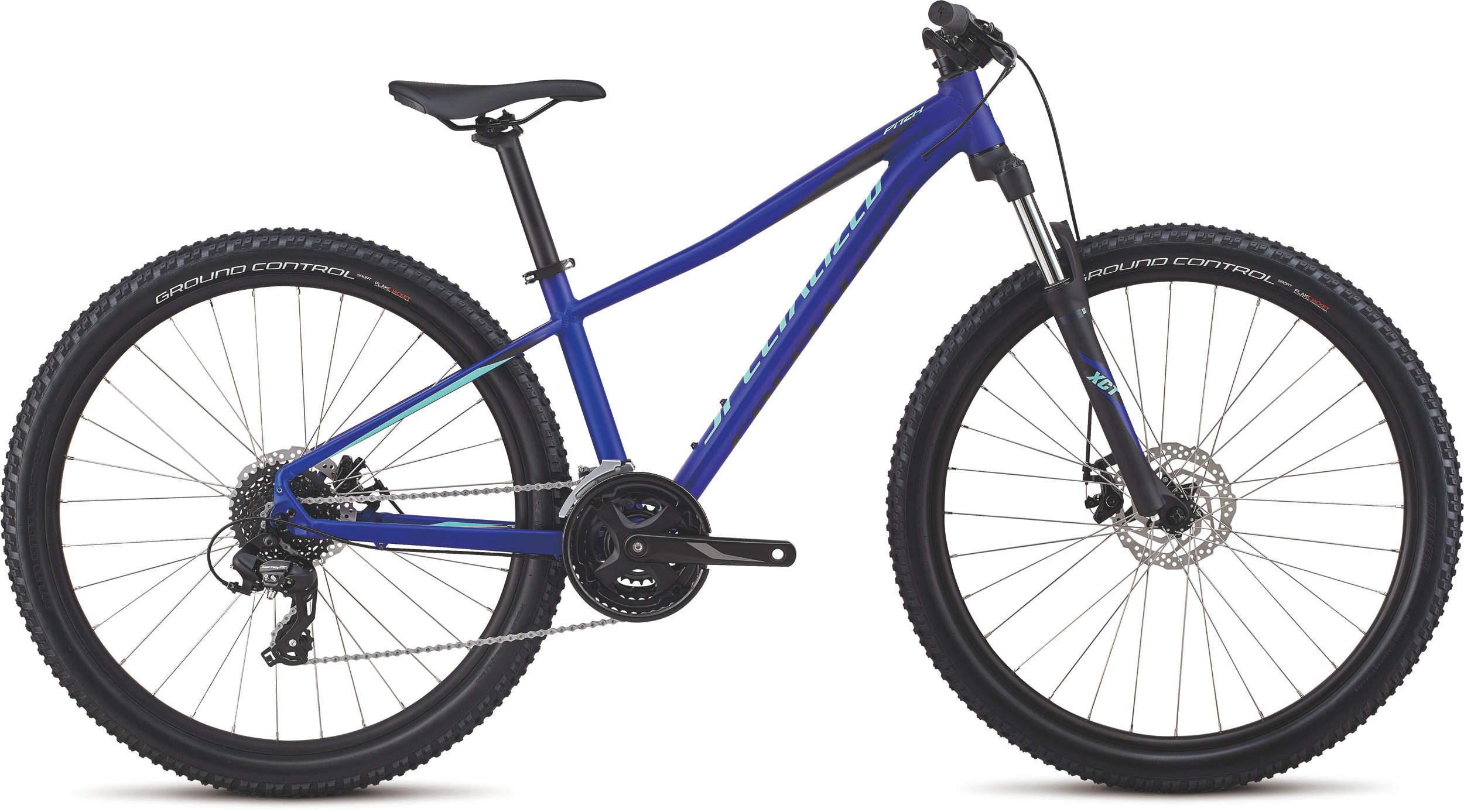Specialized Women´s Pitch 27.5 Satin / Gloss / Acid Blue / Light Turq/Reflect XS - Bike Maniac