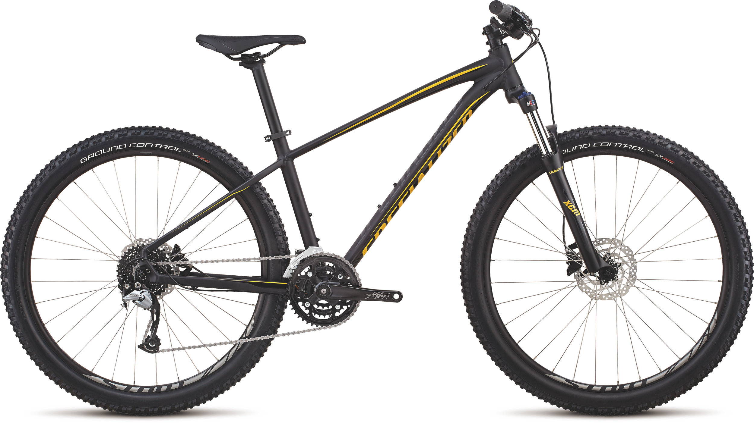 Specialized Men´s Pitch Comp 27.5 SATIN GLOSS BLACK / BLACK / COPPER CHROME L - Alpha Bikes