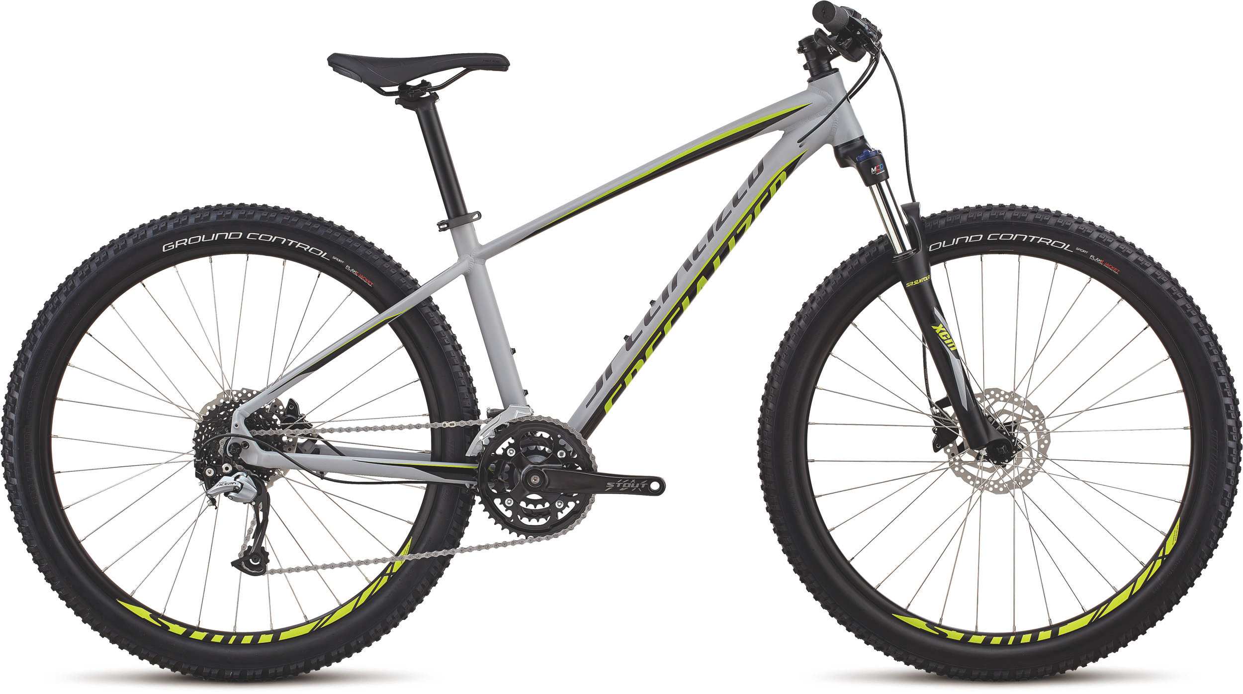 Specialized Men´s Pitch Comp 27.5 SATIN GLOSS COOL GREY / BLACK / HYPER L - Alpha Bikes