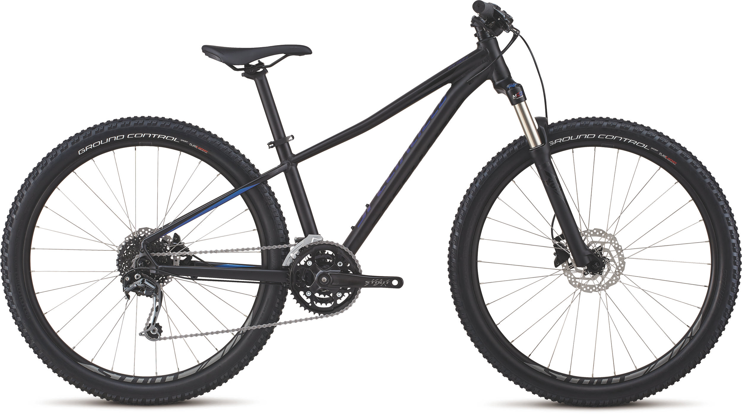 Specialized Women´s Pitch Expert 27.5 Gloss Satin Tarmac Black / Chameleon / Black XS - Bike Maniac