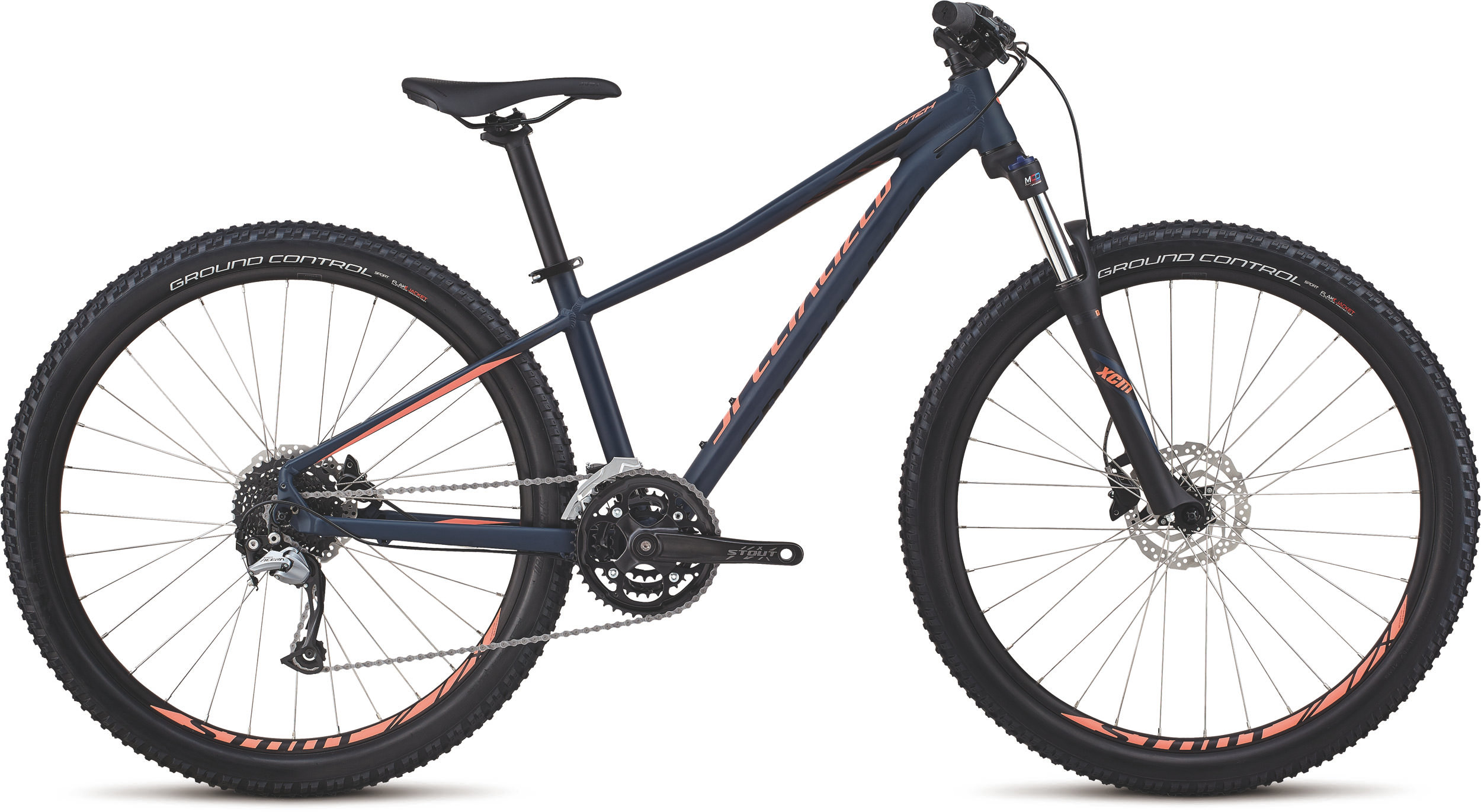 Specialized Women´s Pitch Comp 27.5 Satin / Gloss / Cast Blue / Acid Lava XS - Bike Maniac