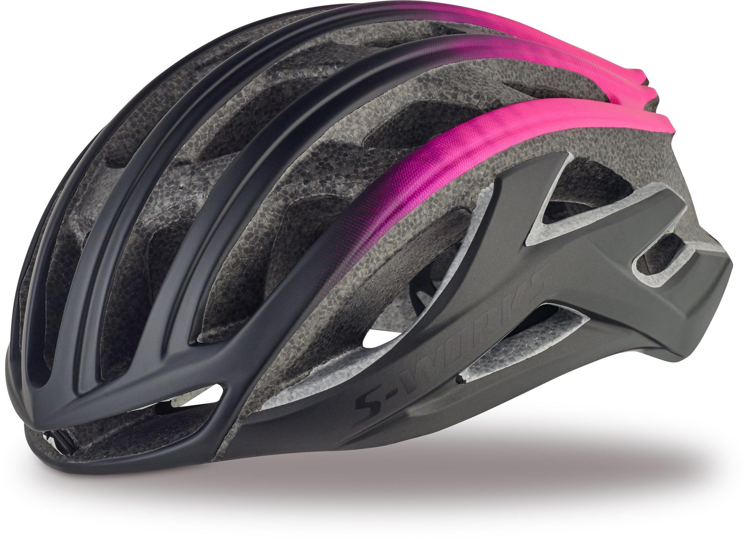 Specialized S-Works Prevail II Matte Black/Pink M - Alpha Bikes