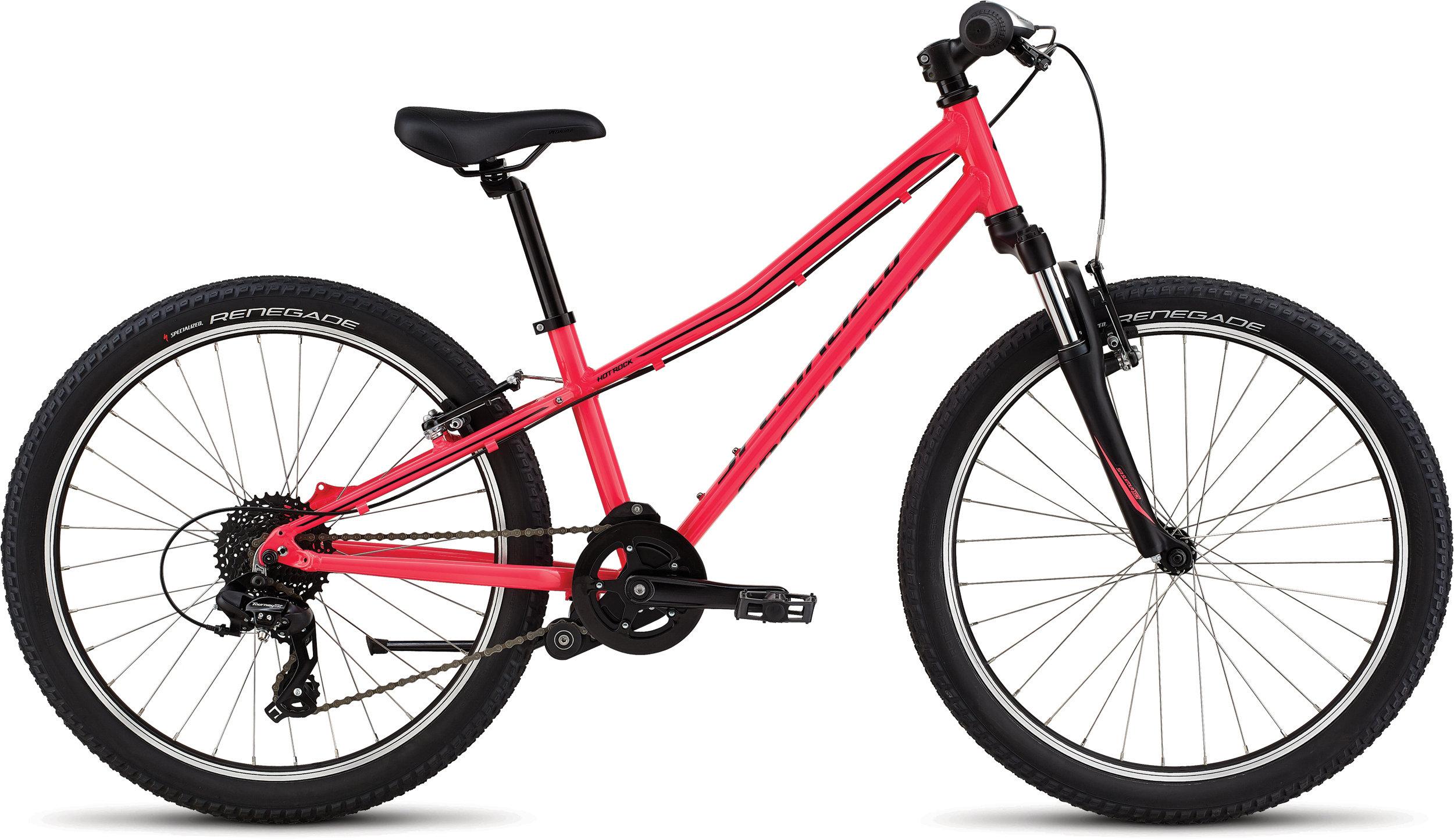 Specialized Hotrock 24 Acid Pink/Black 11 - Alpha Bikes