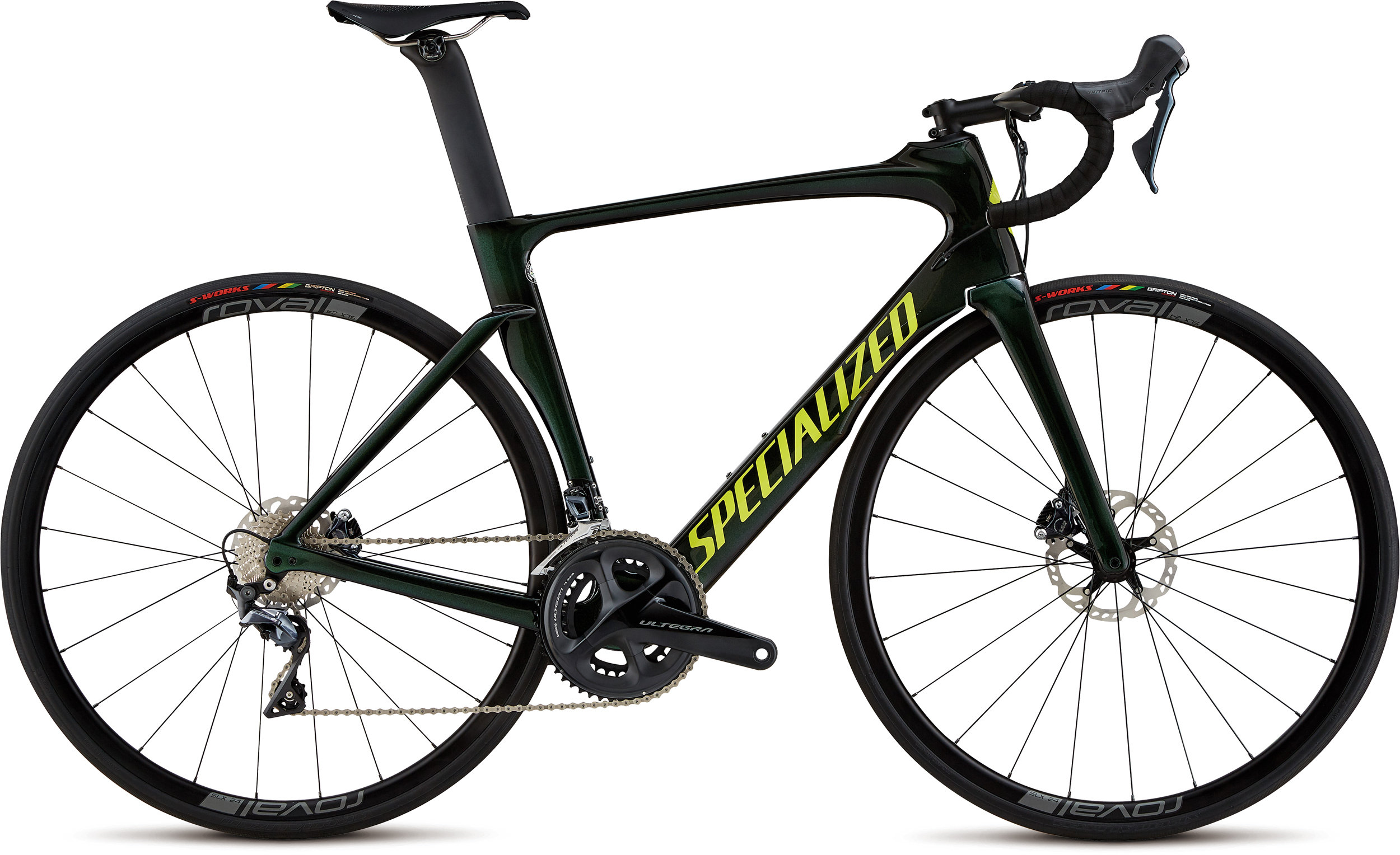 Specialized Venge Expert Disc Tarmac Black/Green Chameleon/Team Yellow/Clean 49 - Pulsschlag Bike+Sport