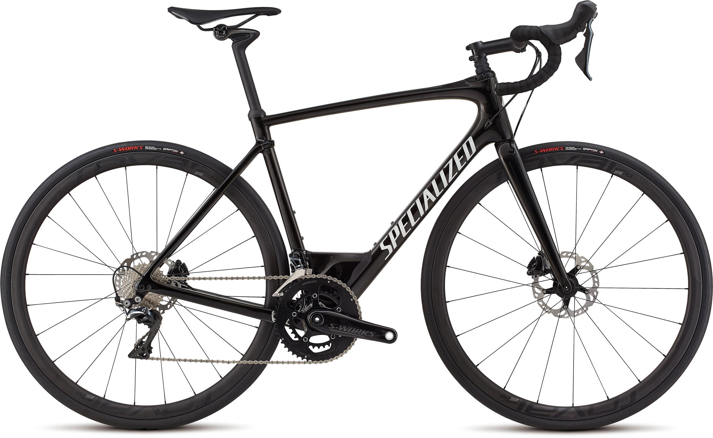 Specialized Roubaix Pro Gloss Tarmac Blk/Graphite Edge Fade/Wht Ref/Clean 56 - Alpha Bikes
