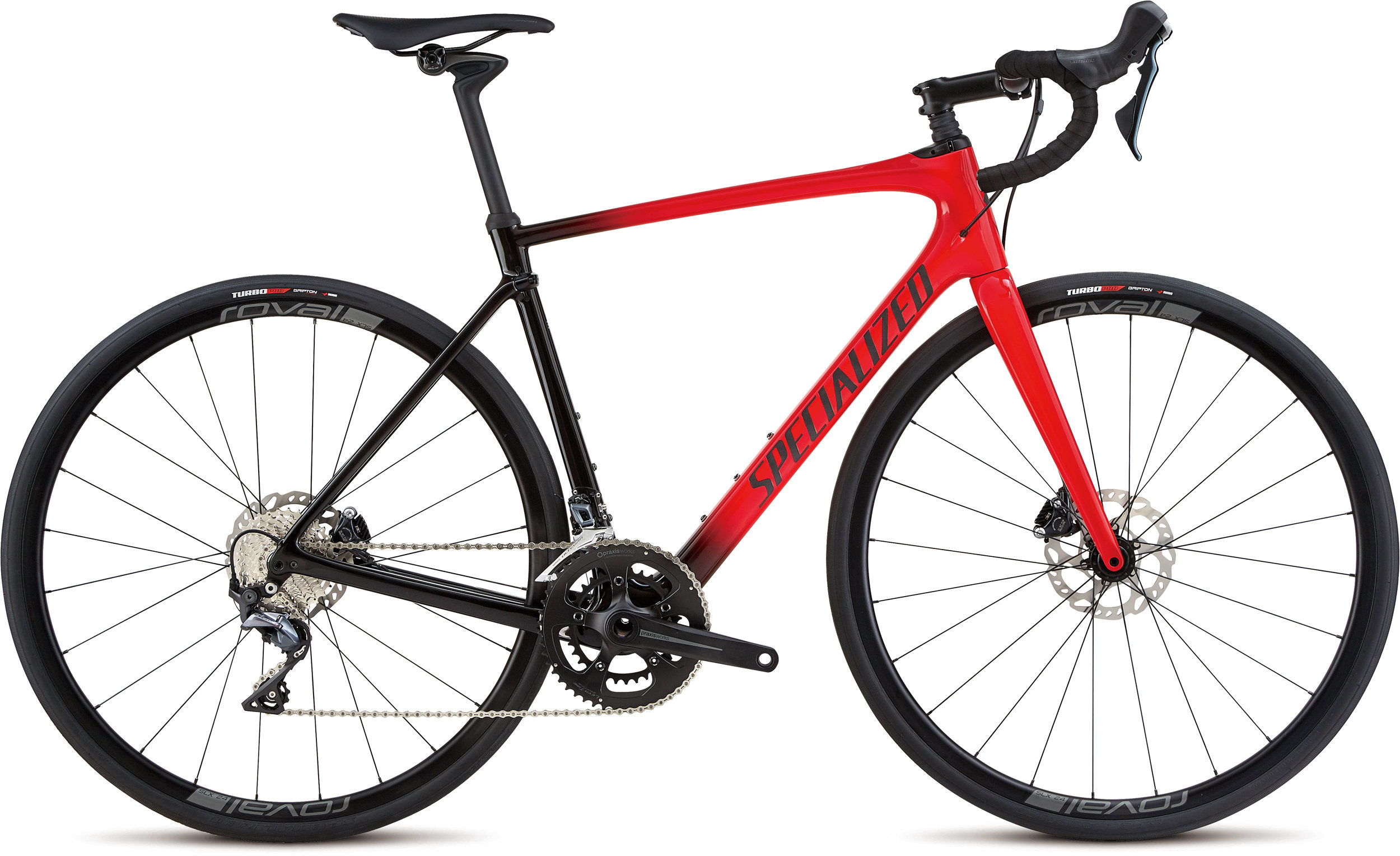 Specialized Roubaix Comp Gloss Red/Tarmac Blk Fade/Blk Ref/Clean 56 - Alpha Bikes