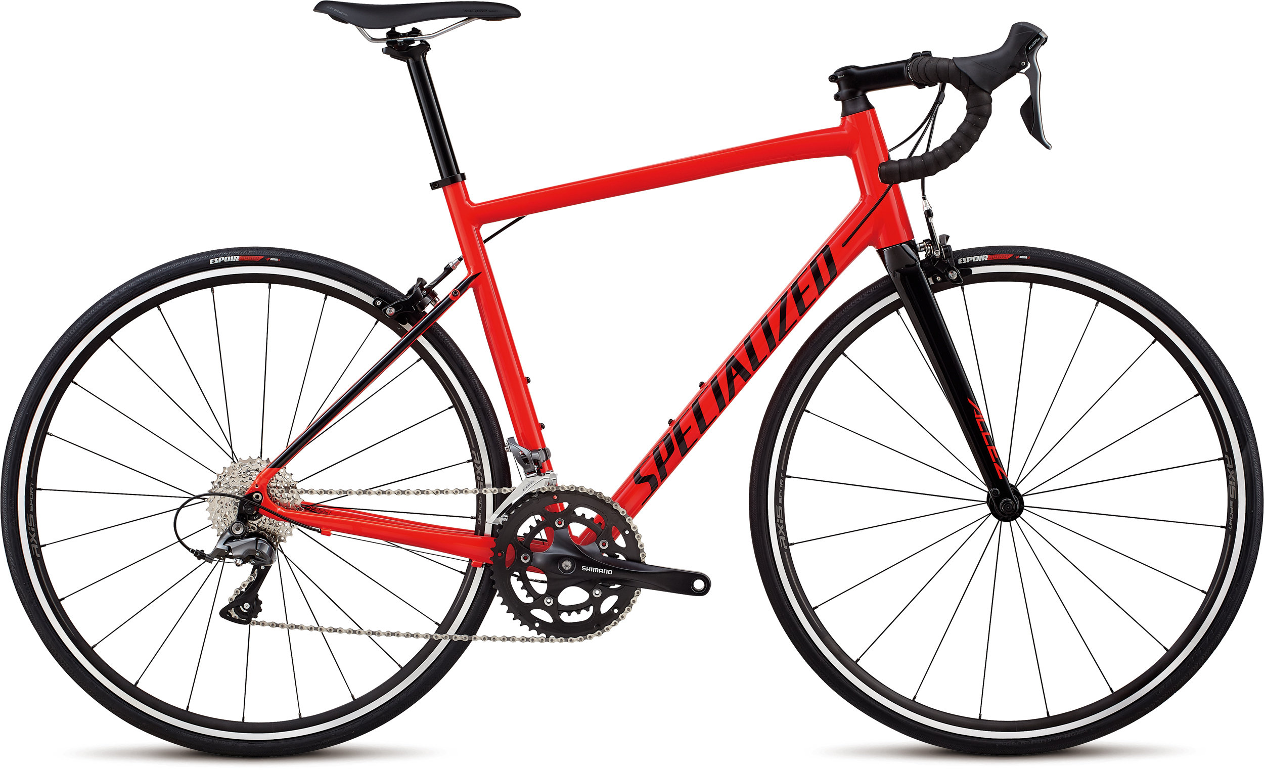 Specialized Allez Gloss Rocket Red / Tarmac Black 56 - Alpha Bikes