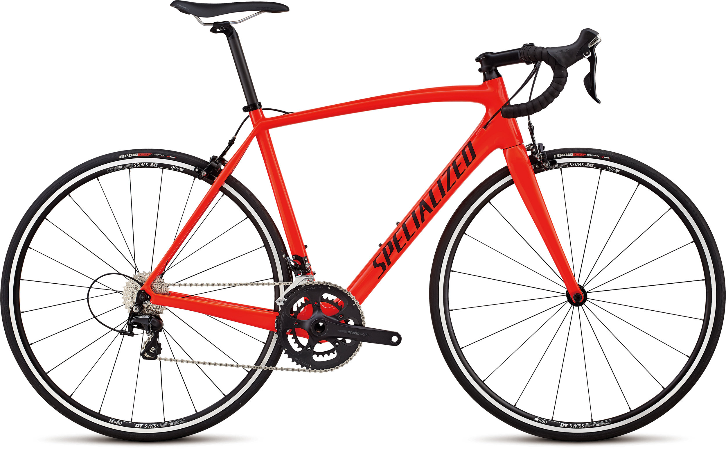 Specialized Men´s Tarmac Sport Rocket Red/Satin Black/Clean 56 - Alpha Bikes