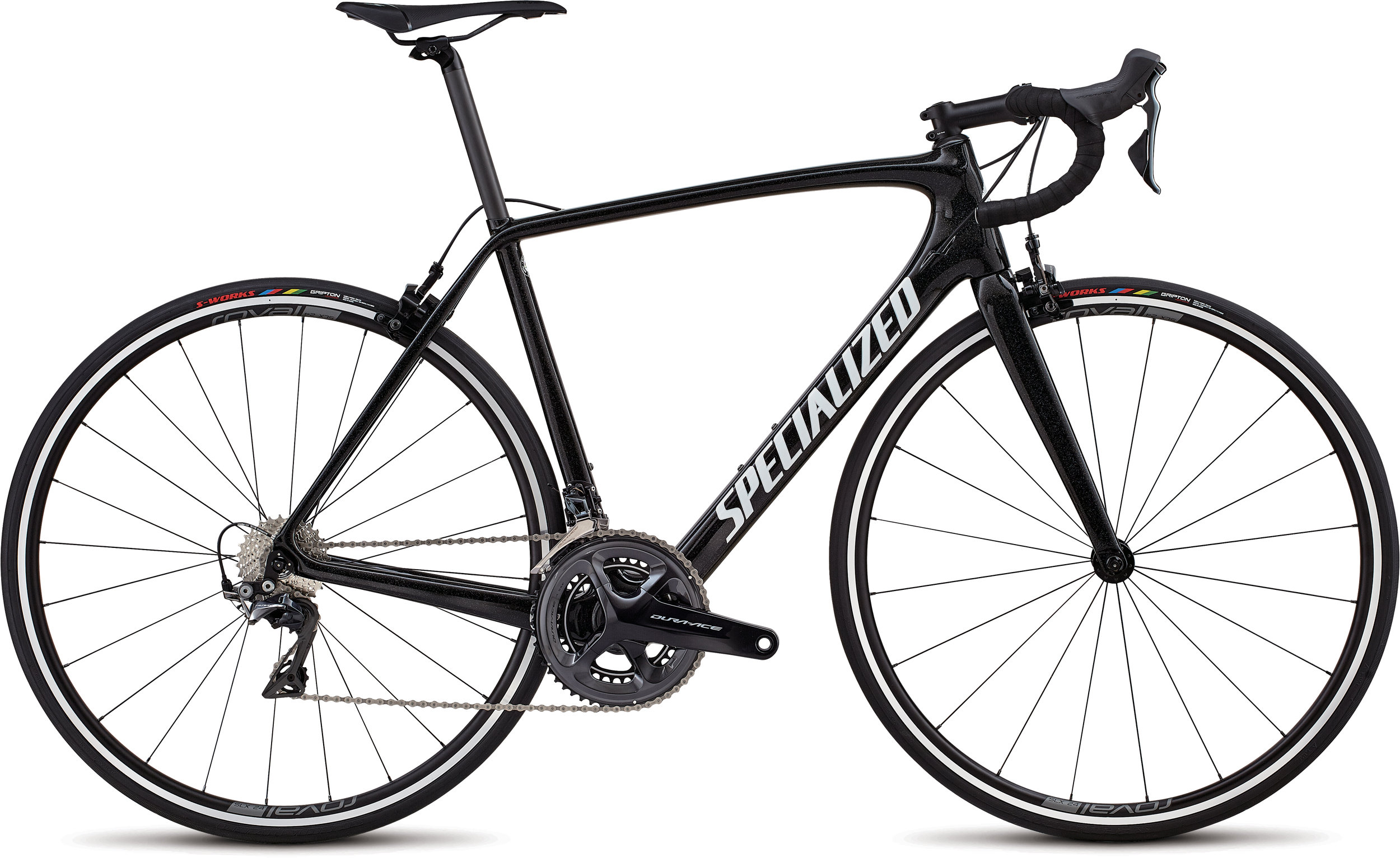 Specialized Men´s Tarmac SL5 Expert DA Cosmic Black/White/Hollogram/Clean 56 - Alpha Bikes