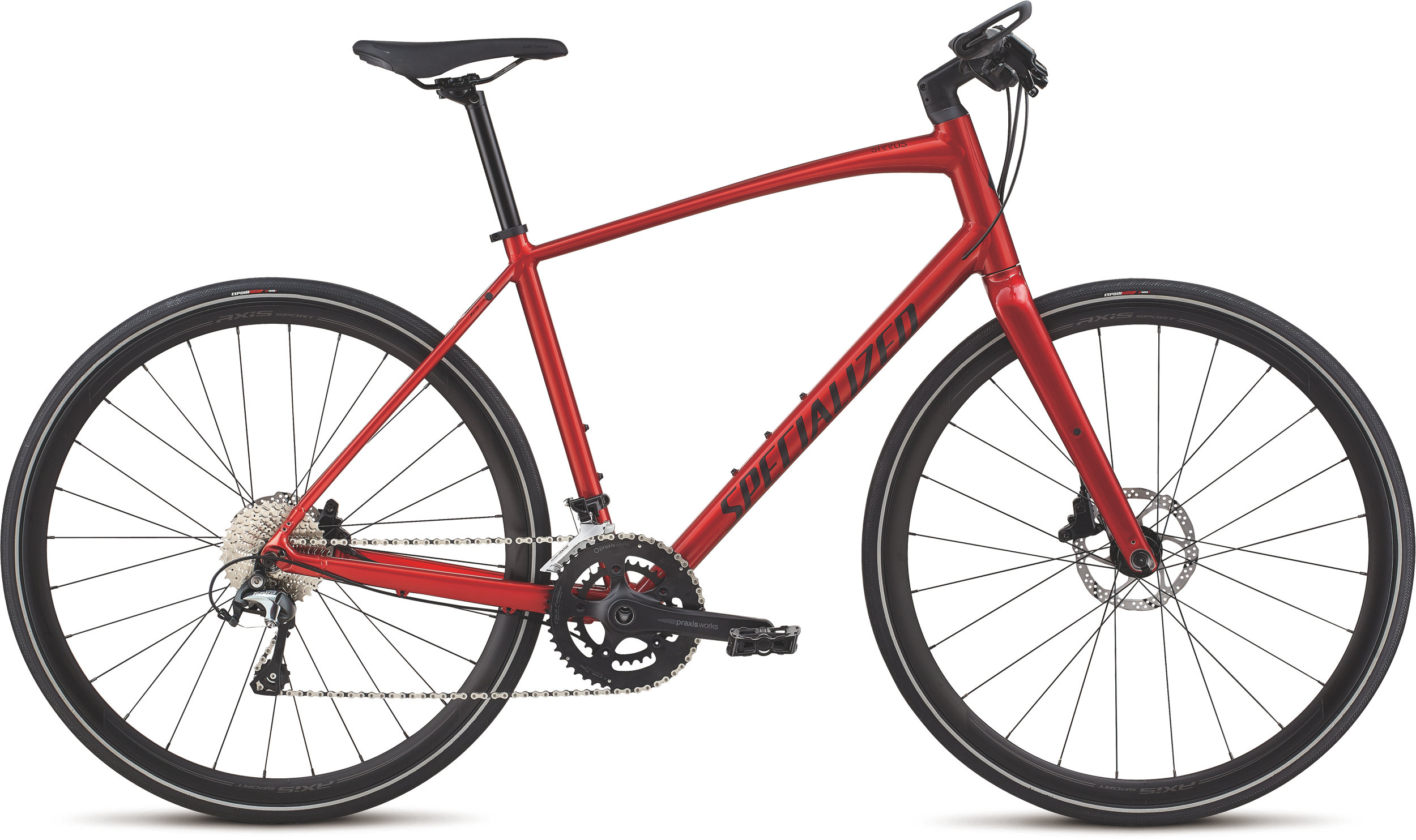 Specialized Men´s Sirrus Elite Alloy Candy Red/Rocket Red L - Alpha Bikes