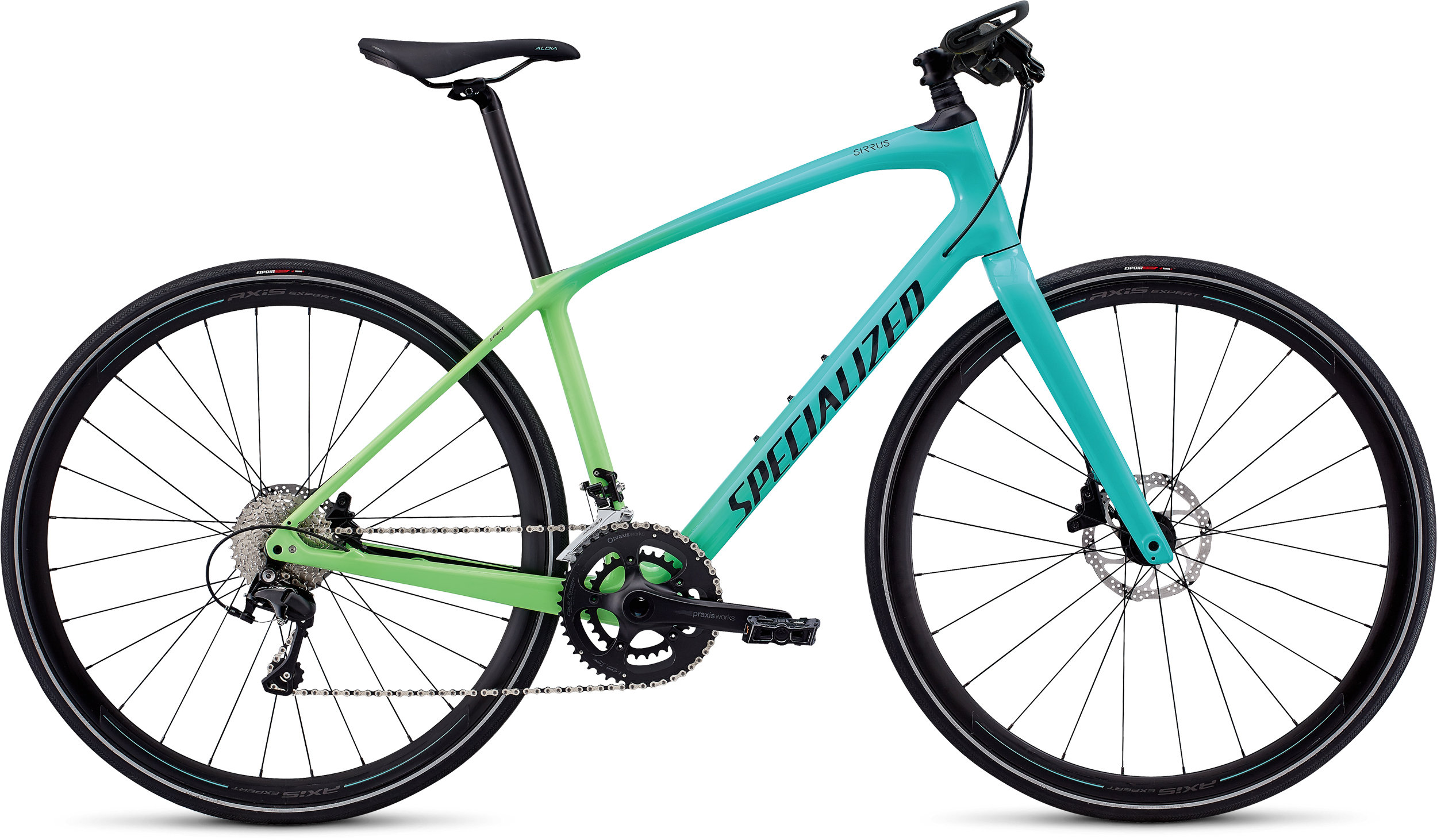 Specialized Women´s Sirrus Expert Carbon Cali Fade/Satin Black M - Alpha Bikes