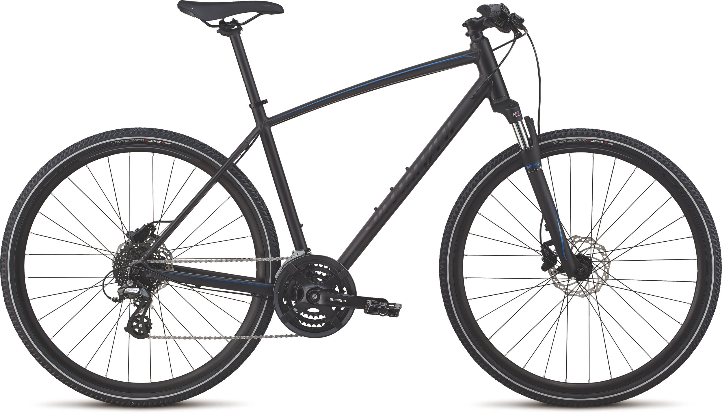 Specialized CrossTrail - Hydraulic Disc Black/Chameleon/Nearly Black Reflective L - Alpha Bikes