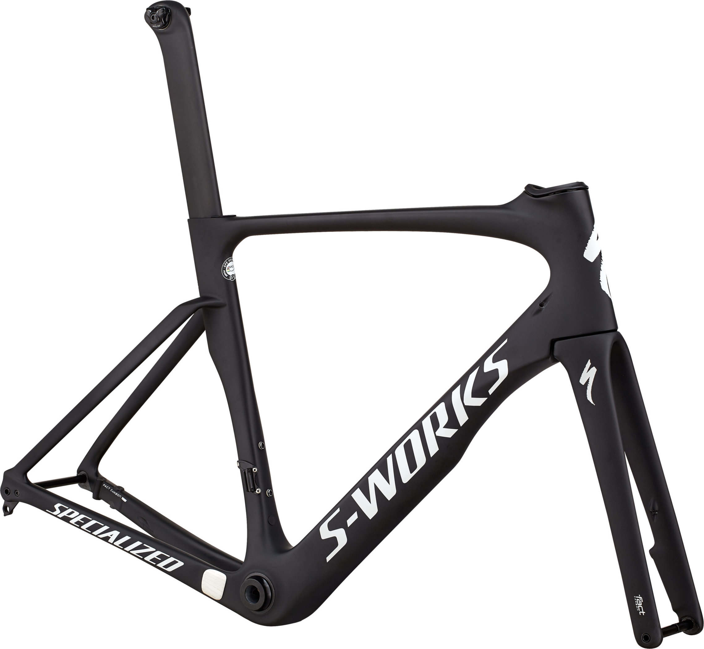 Specialized S-Works Venge ViAS Frameset Satin Black/White Reflective 49 - Pulsschlag Bike+Sport