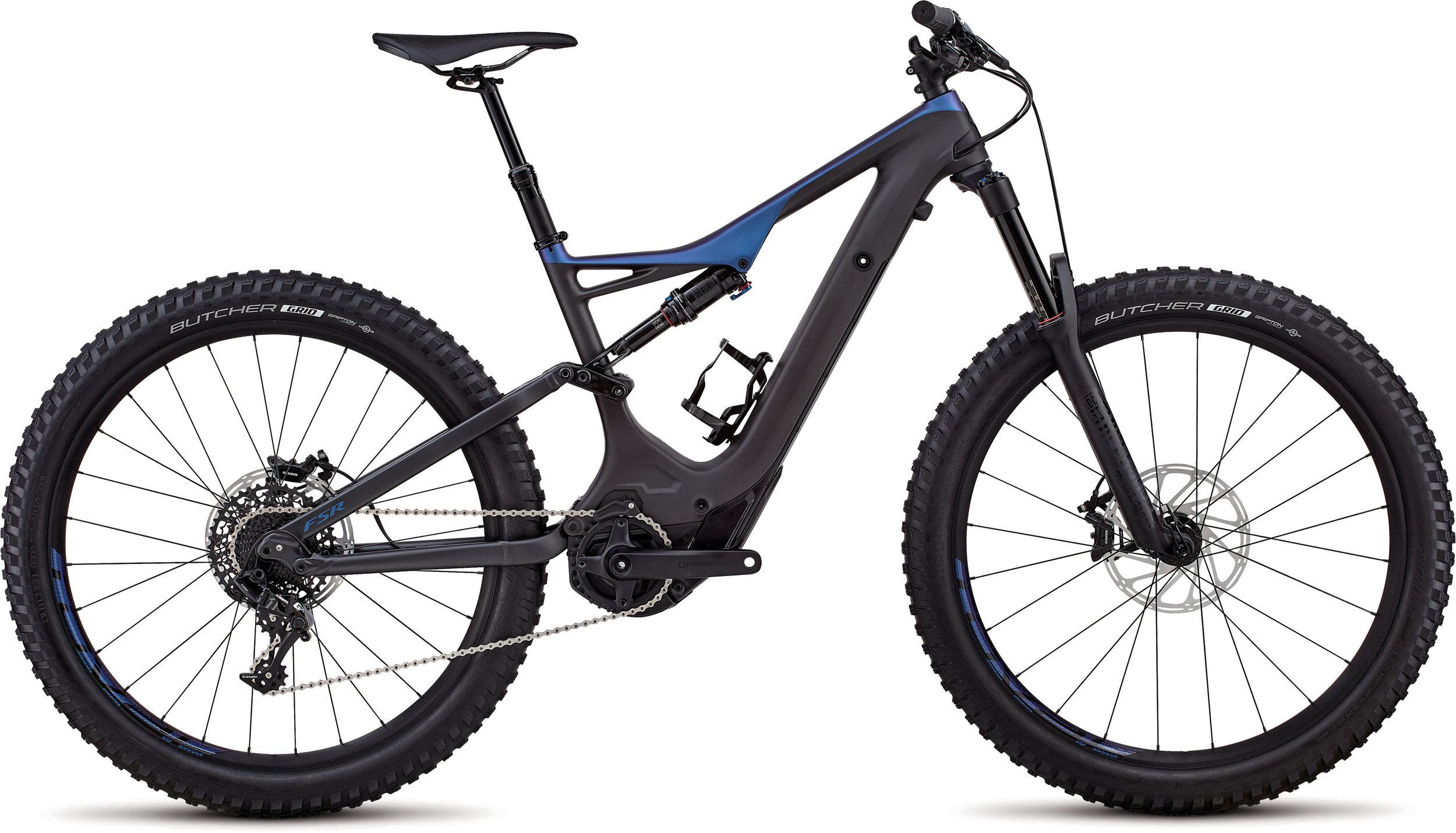 Specialized Men´s Turbo Levo FSR Comp Carbon 6Fattie/29 Satin Carbon / Chameleon L - Randen Bike GmbH