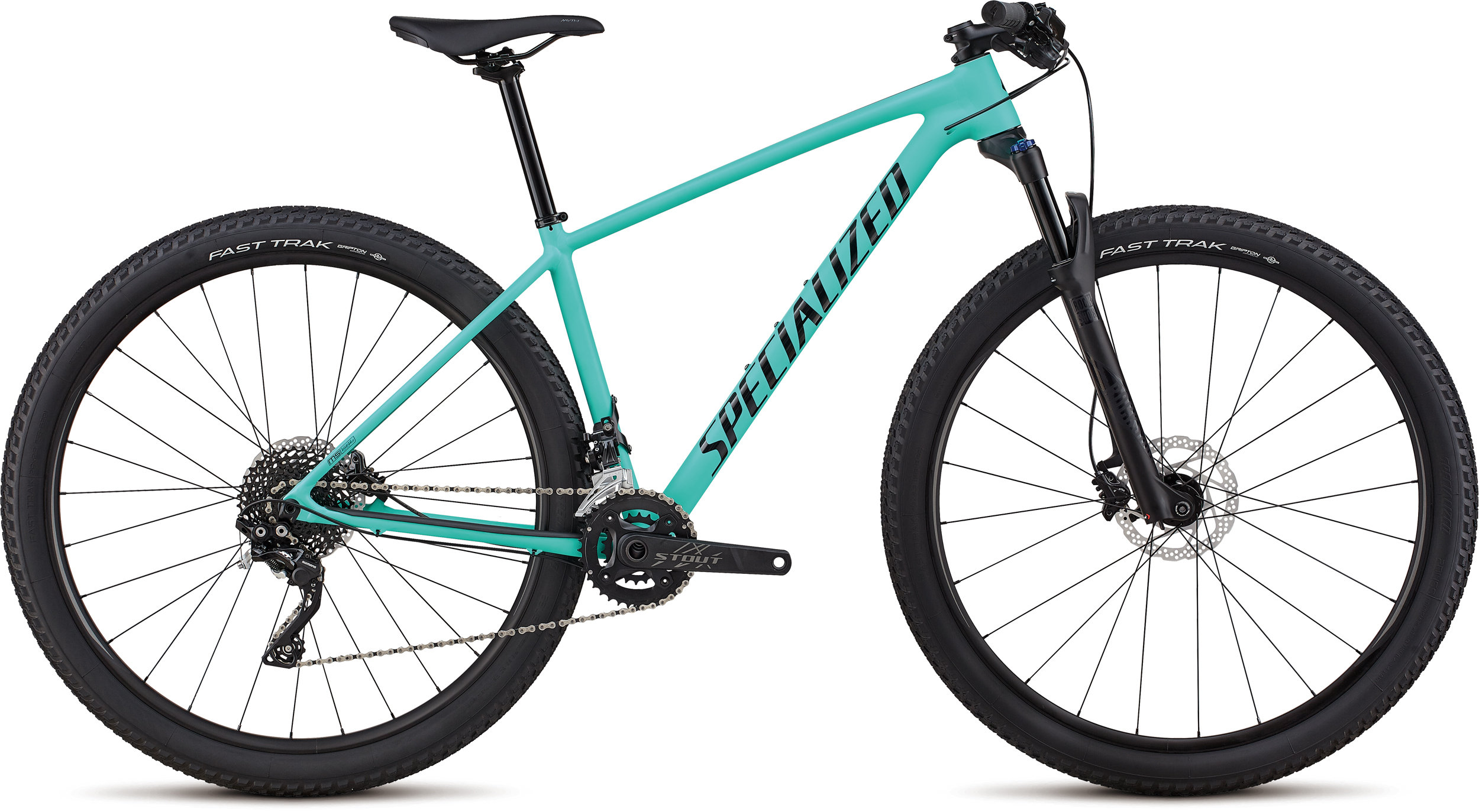Specialized Women´s Chisel Comp Satin Gloss Acid Mint / Black XS - Bike Maniac