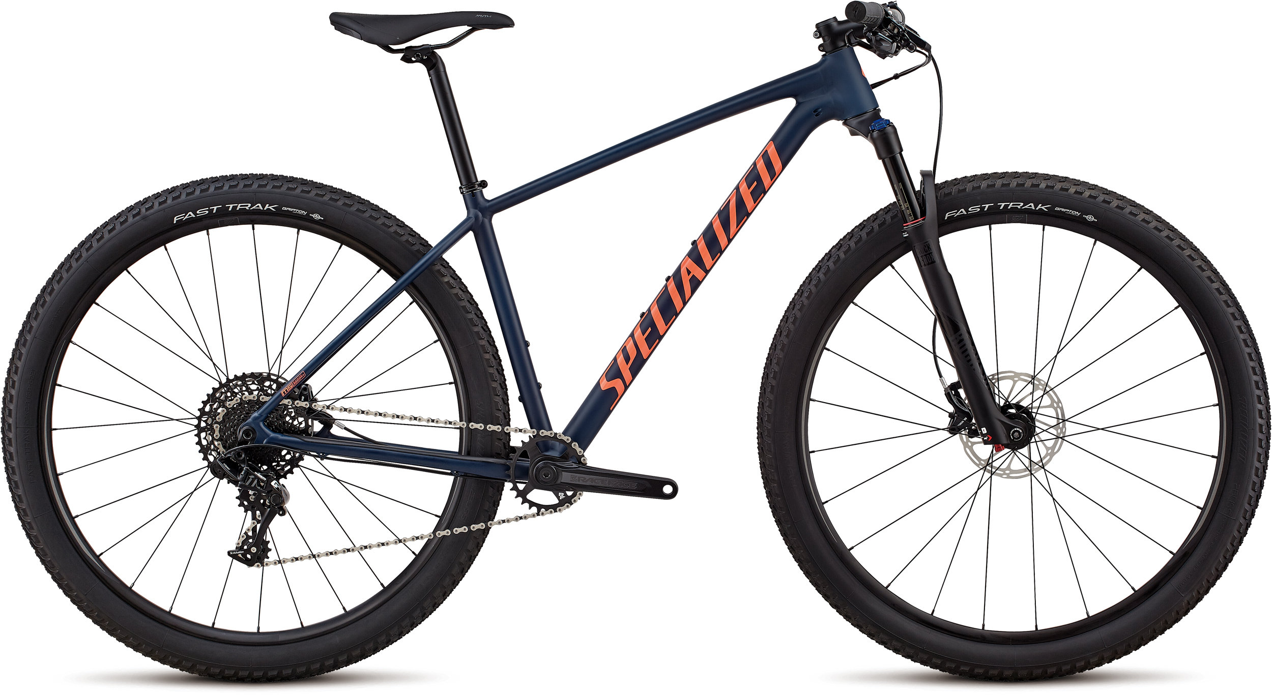 Specialized Women´s Chisel Expert Satin Gloss Cast Blue / Acid Lava Clean L - Bike Zone