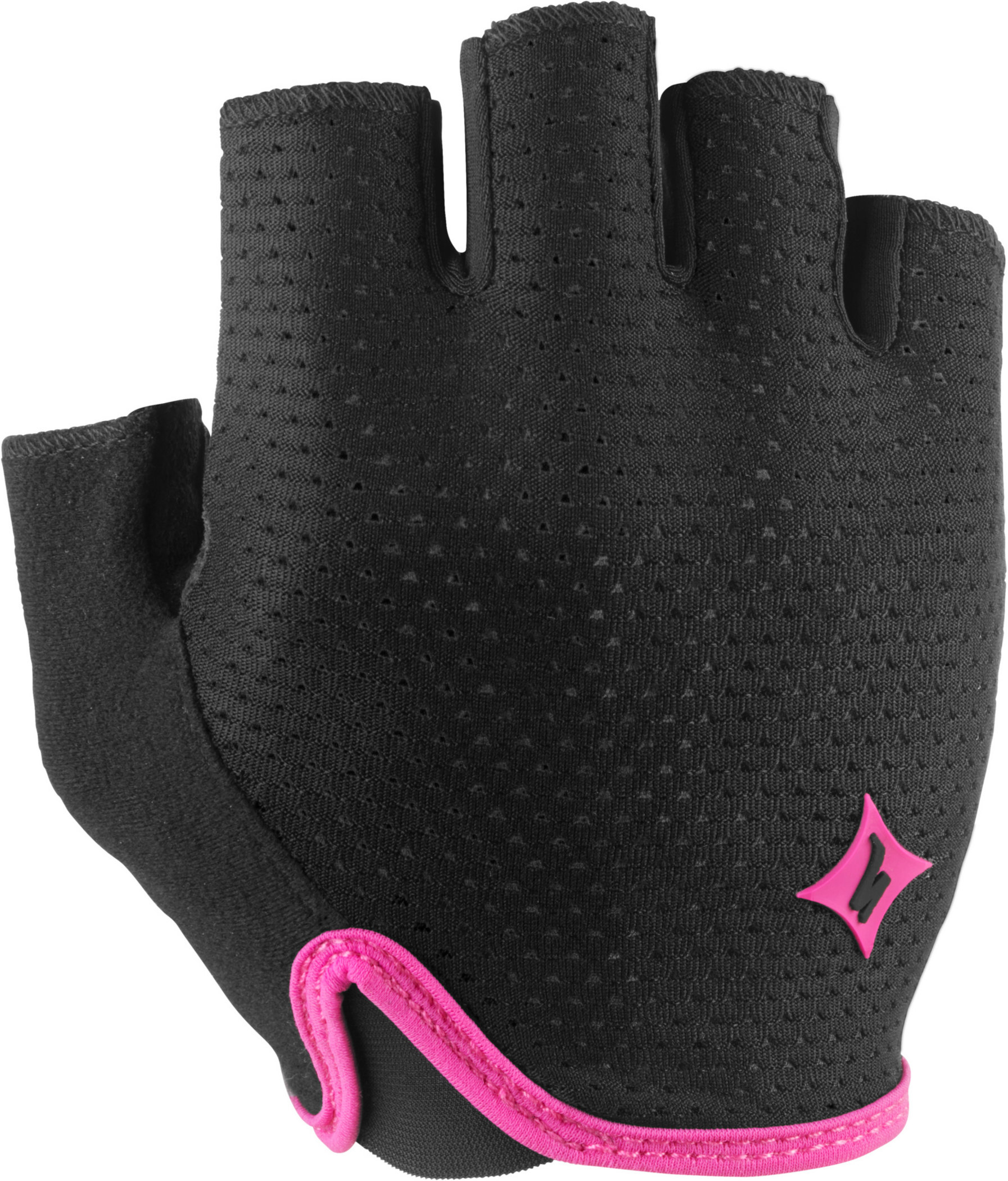 Specialized Women´s Grail Gloves Black/Pink Medium - Alpha Bikes
