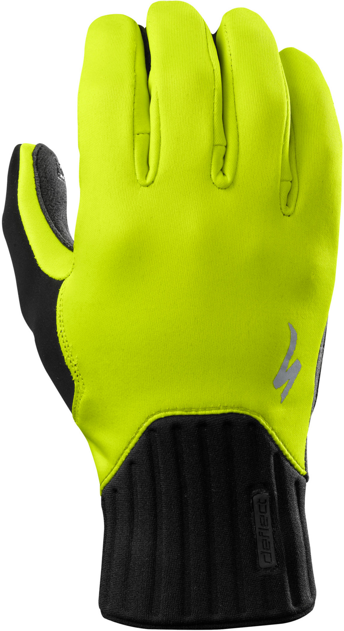 Specialized Deflect Gloves Neon Yellow Medium - Alpha Bikes