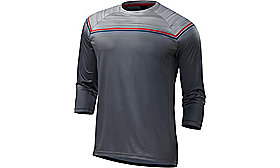 ENDURO COMP 3/4 JERSEY GRY/RED S