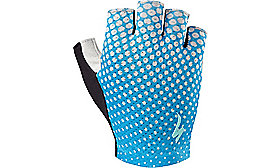 BODY GEOMETRY GRAIL GLOVE   WOMEN NEON BLU/GEO CREST S