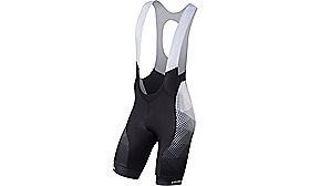 SL PRO BIB SHORT RF MATRIX/BLK STN TEAM S