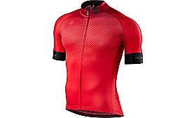 SL PRO JERSEY SHORT SLEEVES  RF MATRIX/RED TEAM S