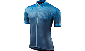 RBX COMP JERSEY SHORT SLEEVES  GEO DSTBLU S