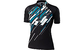 RBX PRO JERSEY SHORT SLEEVES  WOMEN SKYLT/BLK XS
