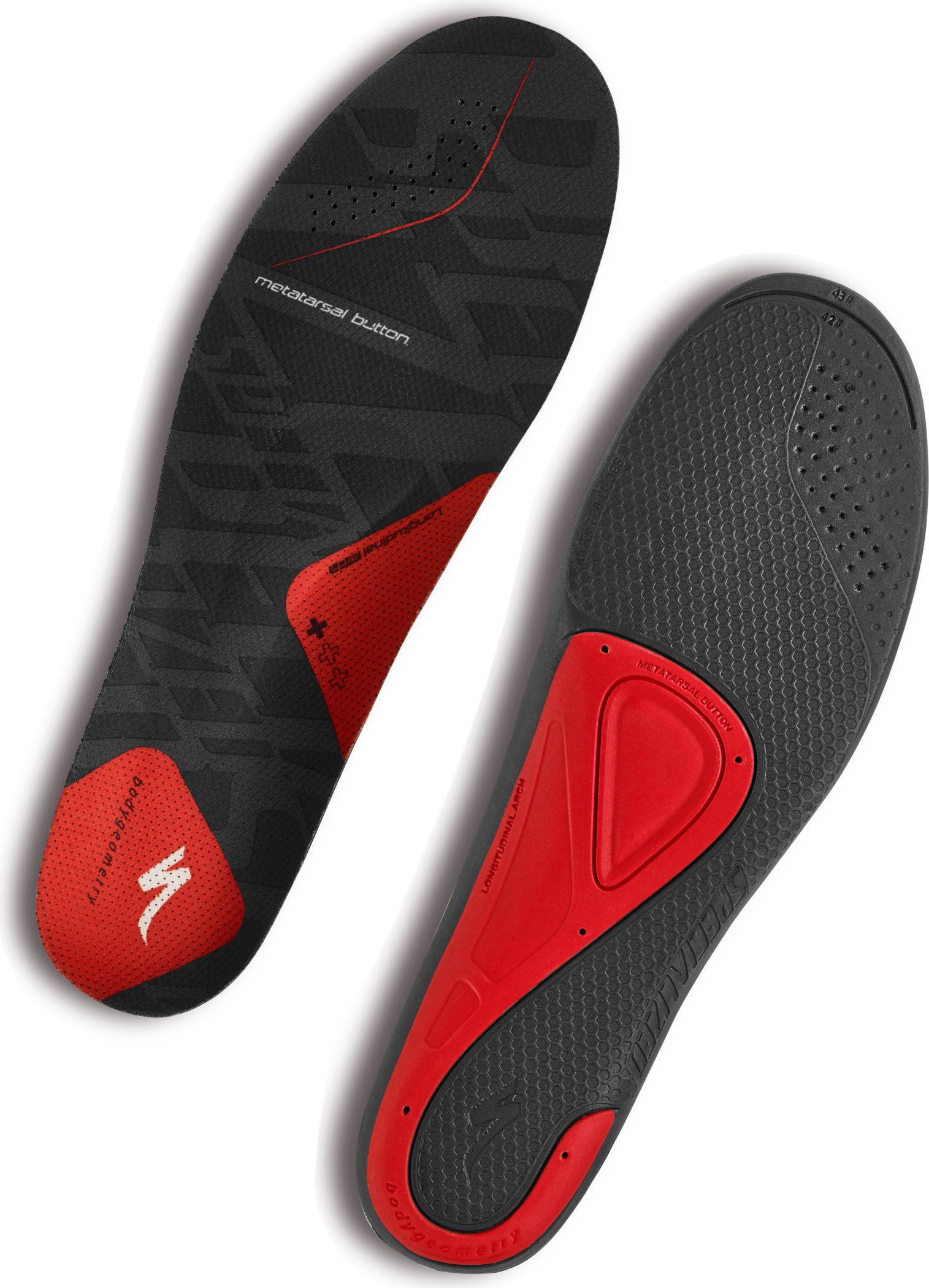 SPECIALIZED BG SL FOOTBED + RED 36-37 - Alpha Bikes